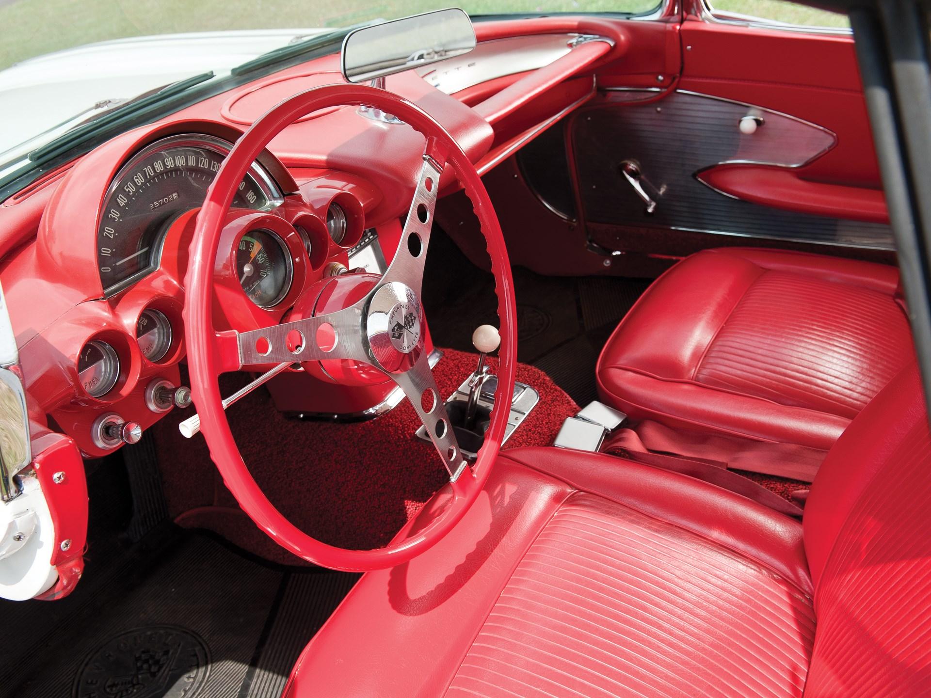 Rm Sothebys 1961 Chevrolet Corvette Convertible The Charlie Chevy Stingray