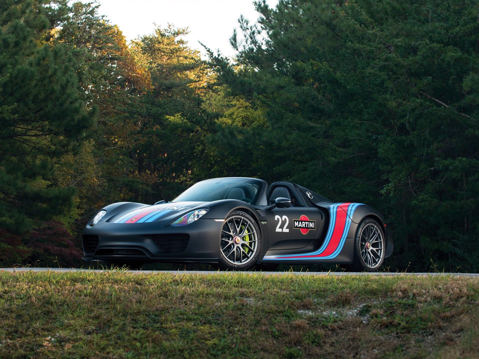 Rm Sotheby S 2015 Porsche 918 Weissach Spyder New York Icons