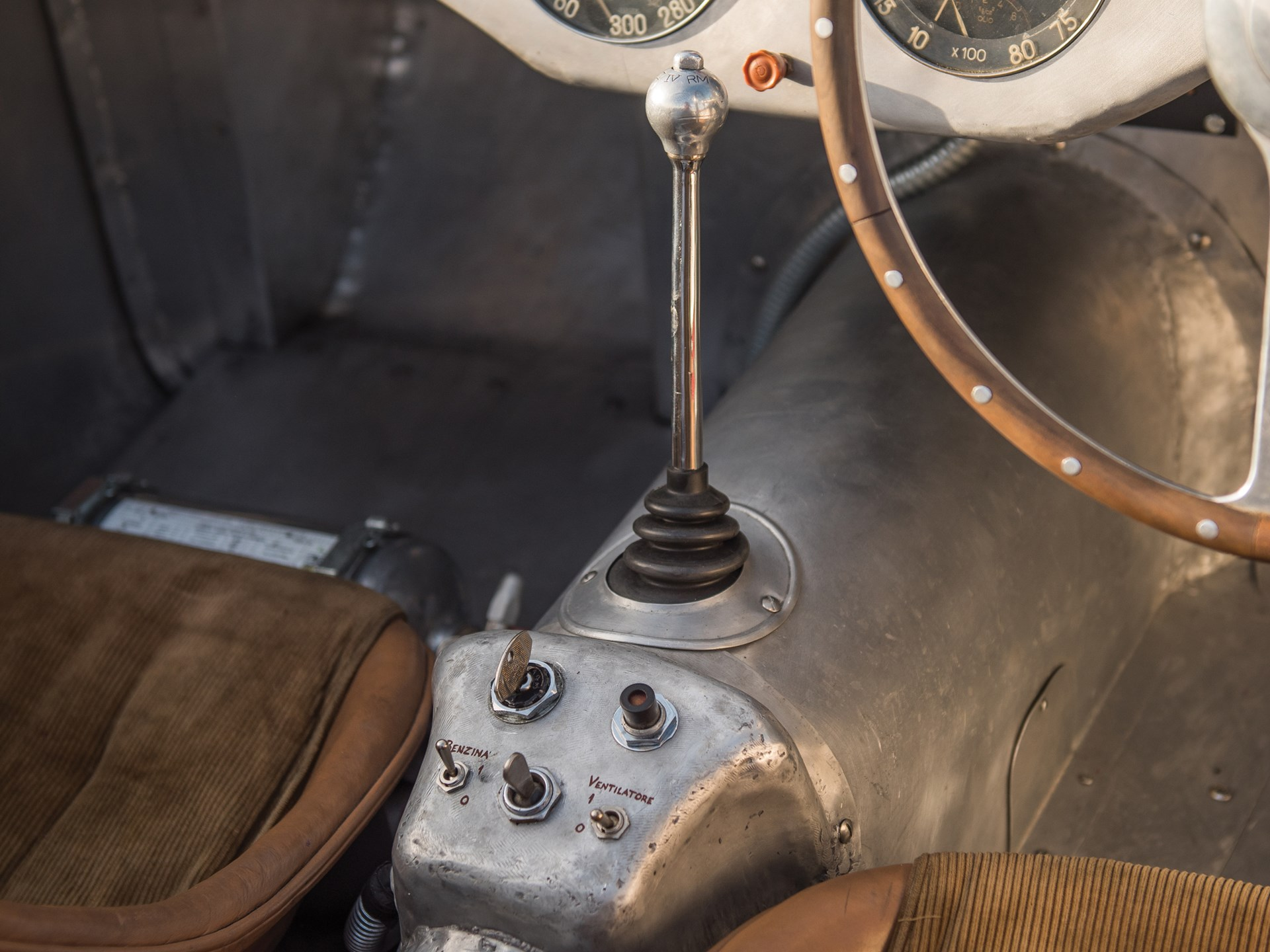 1950 Ferrari 275S/340 America Barchetta by Scaglietti