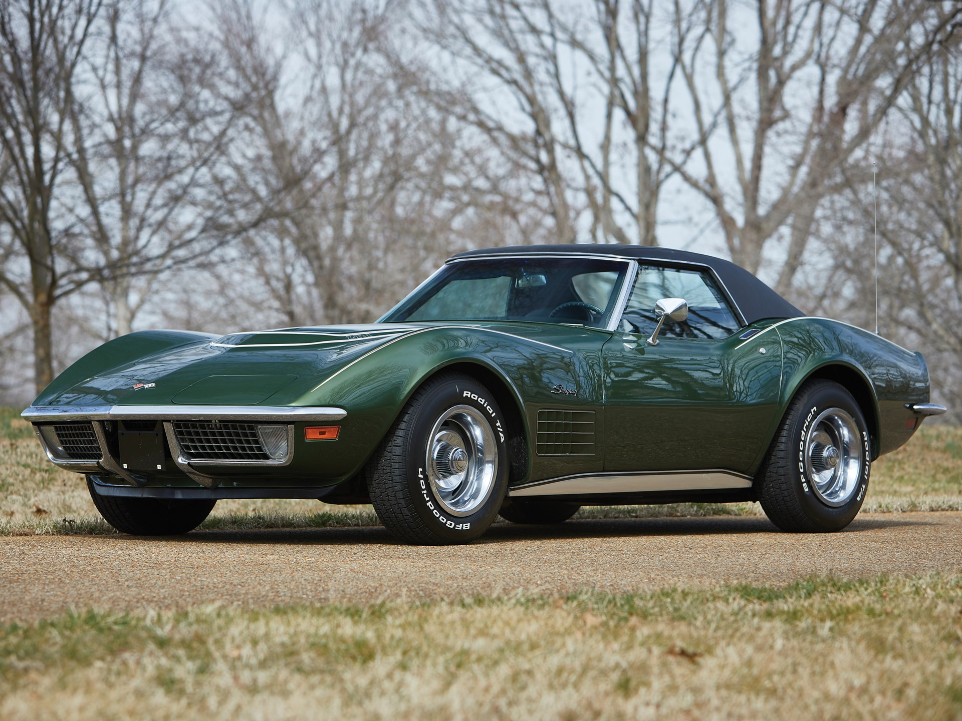 1970 Chevrolet Corvette Stingray Lt1 Convertible