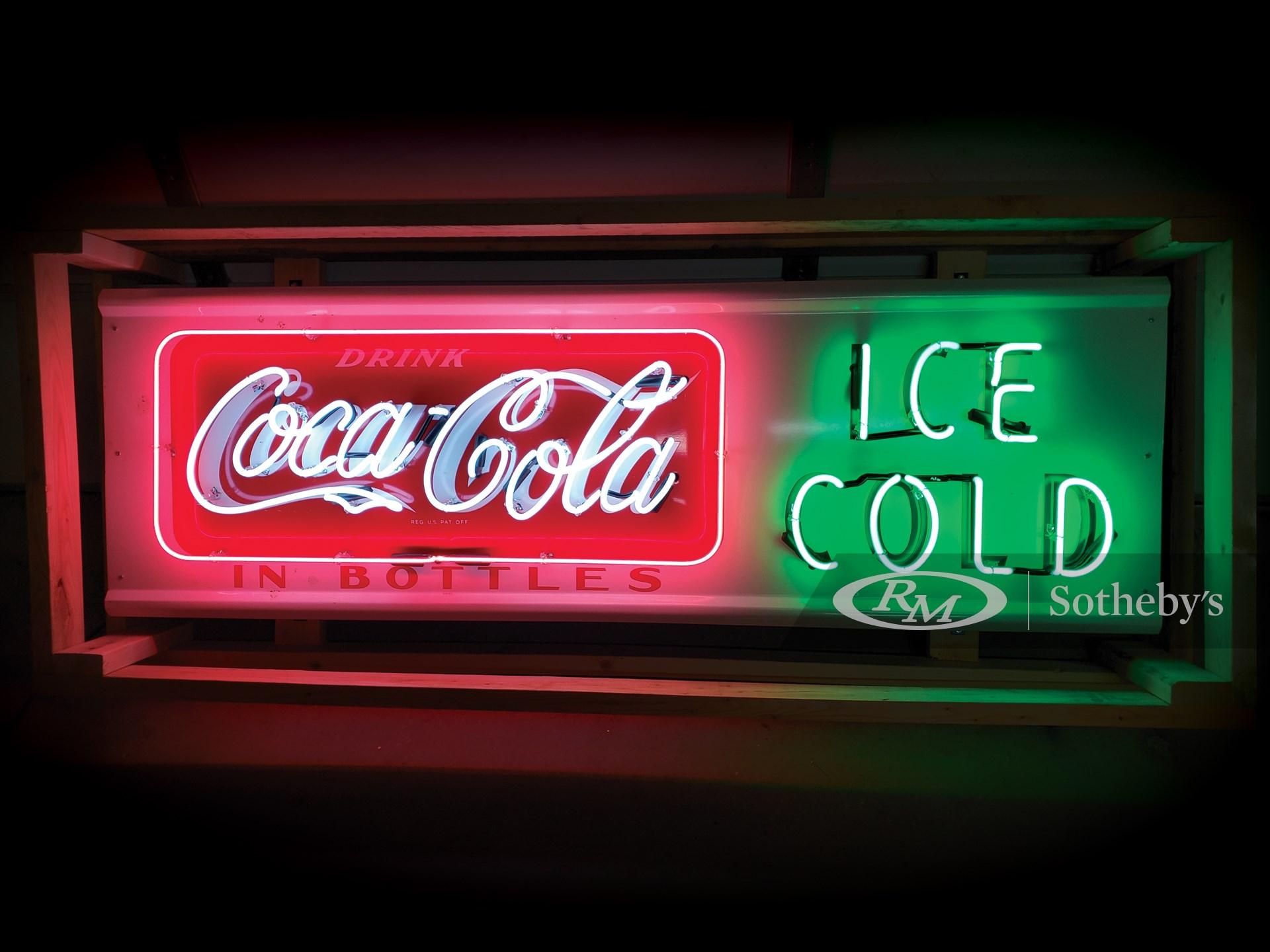 Coca-Cola Neon Tin Sign -