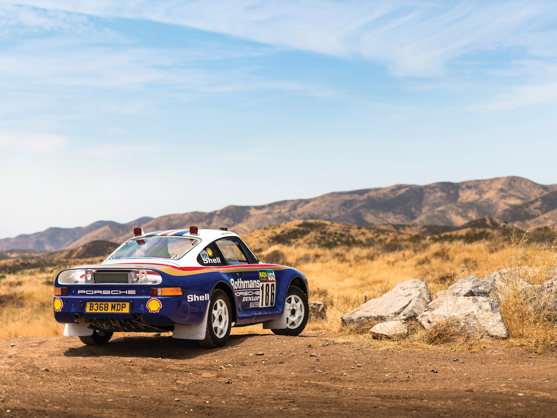 Rm Sothebys 1985 Porsche 959 Paris Dakar The Porsche