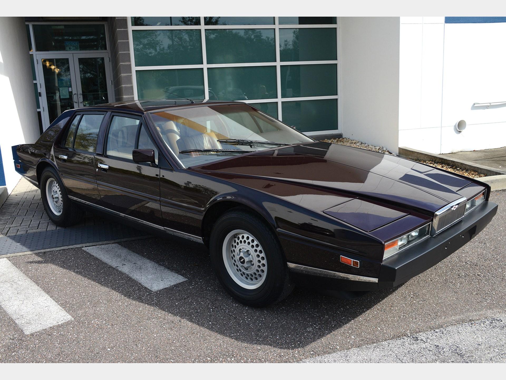 RM Sothebys Aston Martin Lagonda Fort Lauderdale - Aston martin lagonda