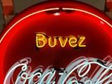 Coca-Cola Neon Porcelain Sign - $