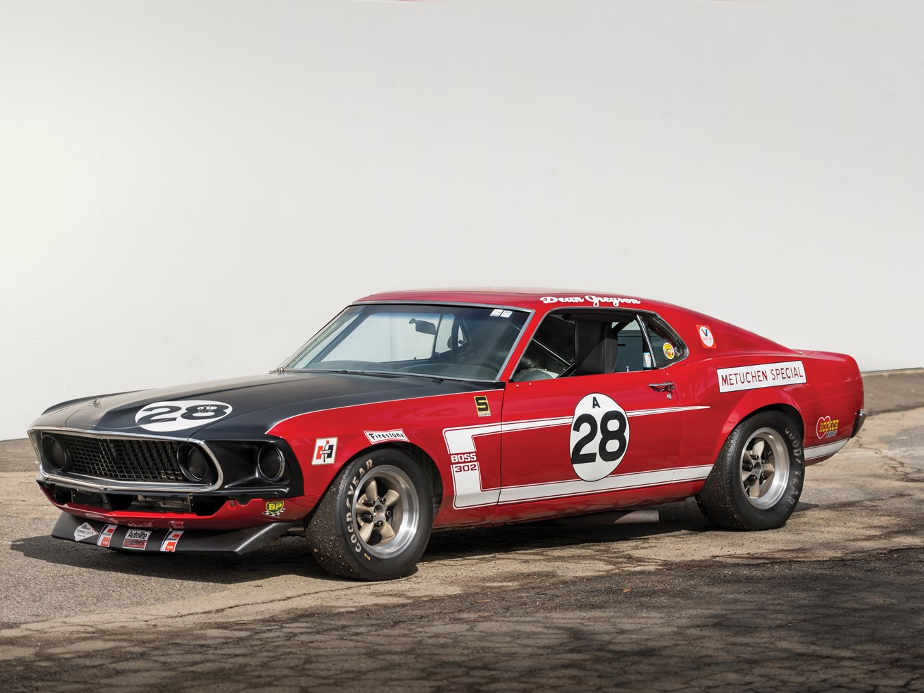 rm sotheby 39 s 1969 tasca ford mustang boss 302 trans am. Black Bedroom Furniture Sets. Home Design Ideas