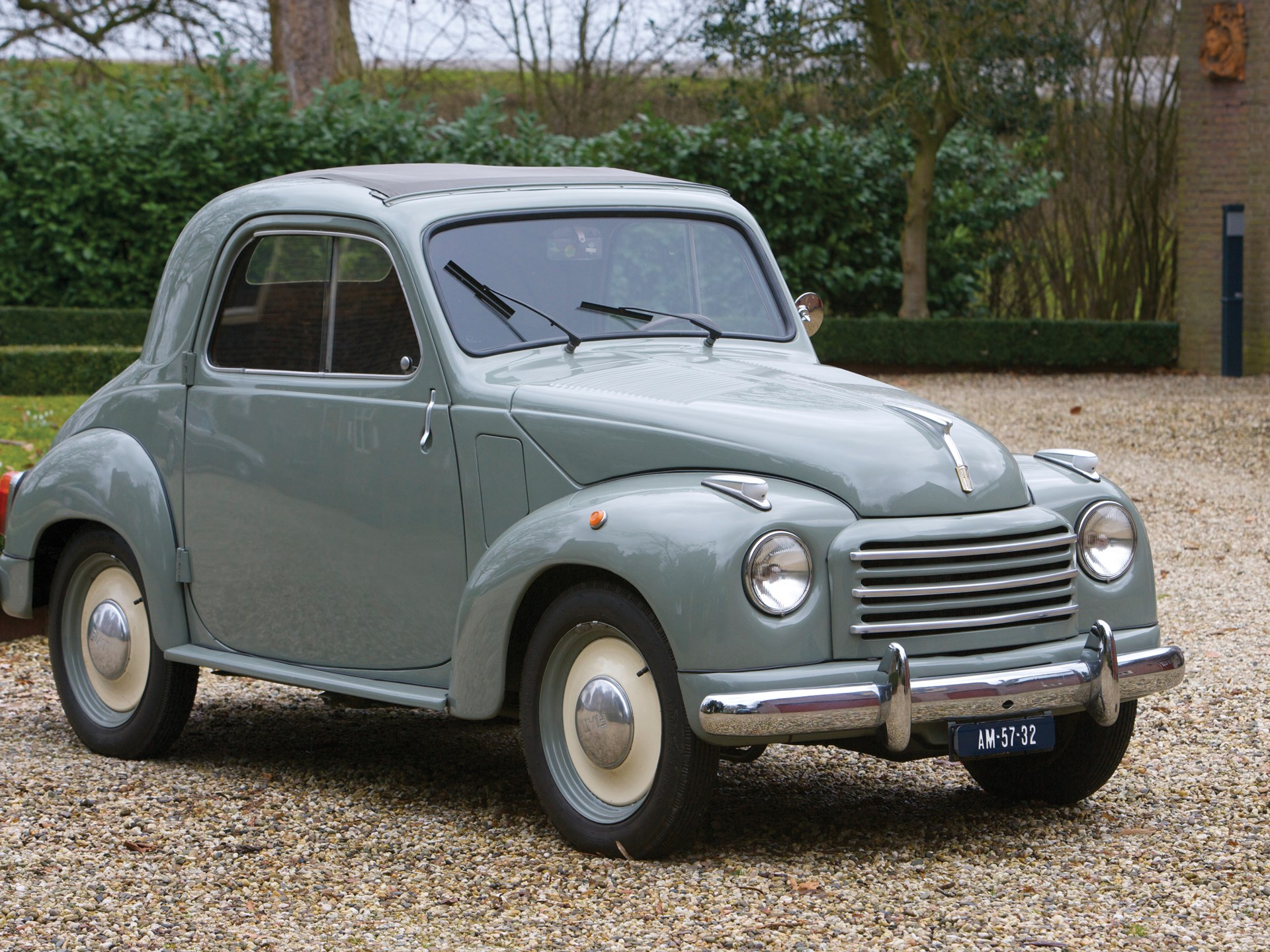 Rm Sothebys 1954 Fiat 500c Topolino Automobiles Of London 2009 500 For Sale