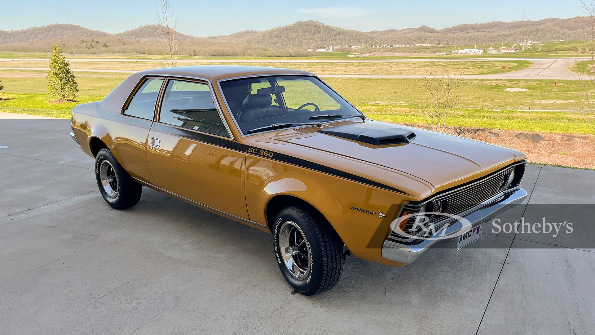 1971 AMC Hornet SC/360 available at RM Sotheby's Online Only Open Roads April Auction 2021