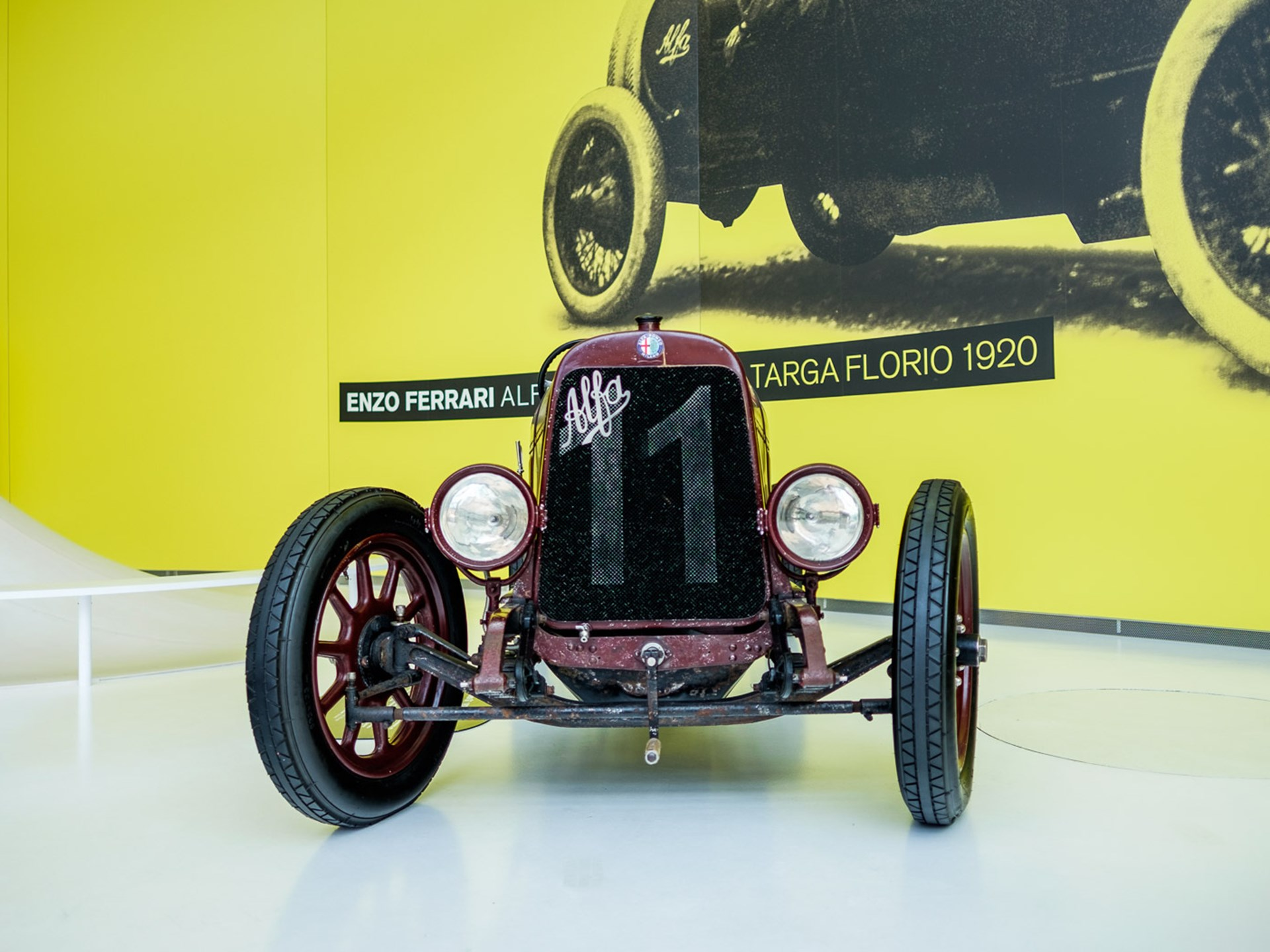The G1 on display at Museo Enzo Ferrari in Modena.