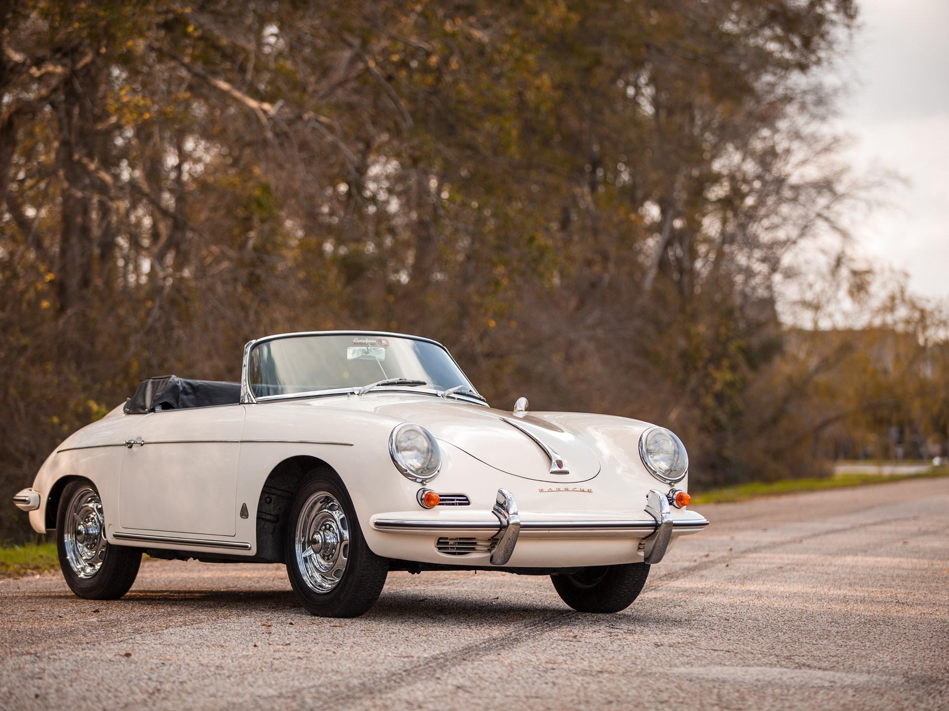 Rm Sotheby S 1960 Porsche 356b 1600 T5 Super 90 Roadster Amelia