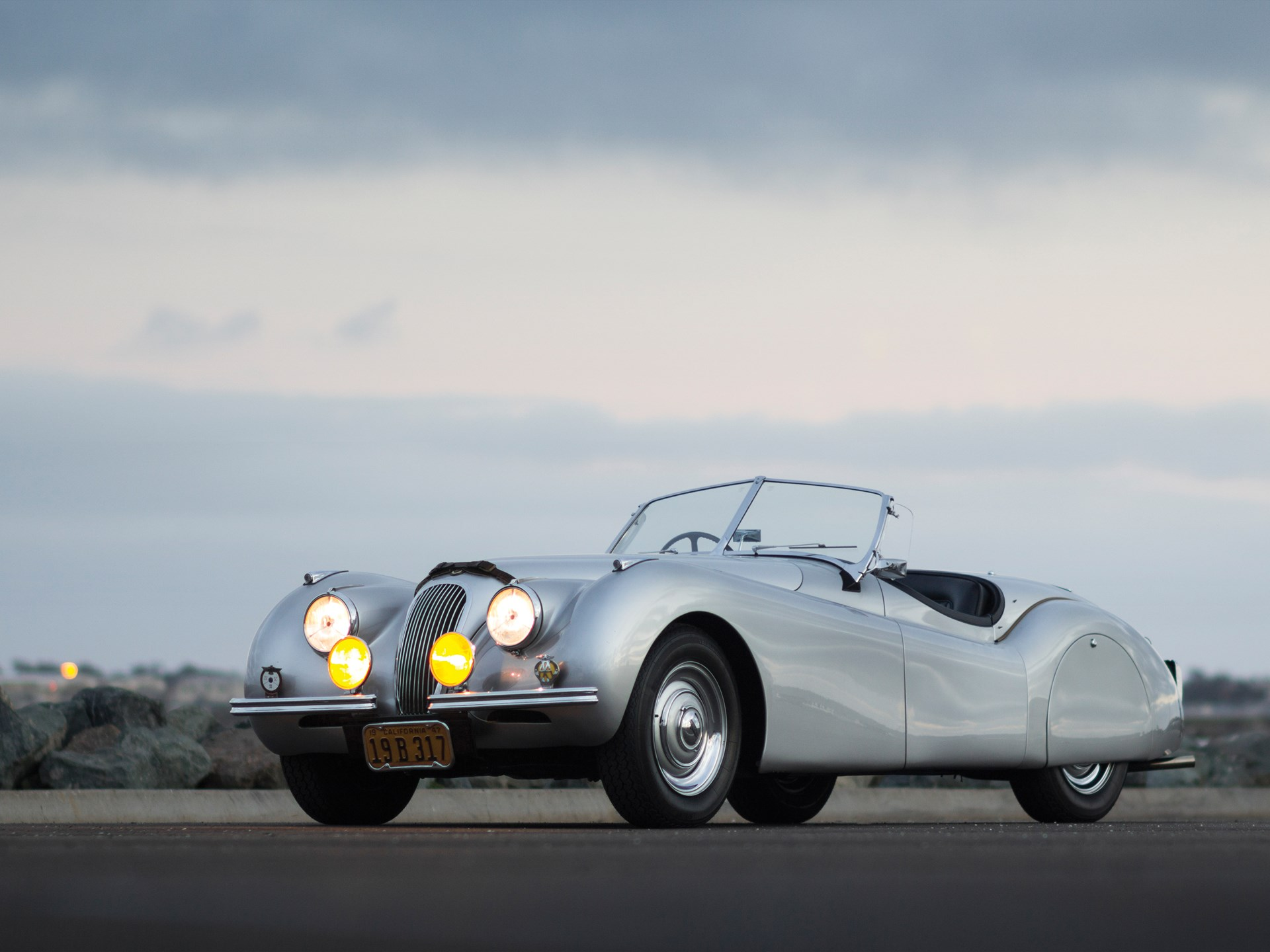 1949 Jaguar XK120 Alloy Roadster   Amelia Island 2014   RM Sotheby's