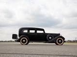 1934 Lincoln Model KB Seven-Passenger Sedan  - $