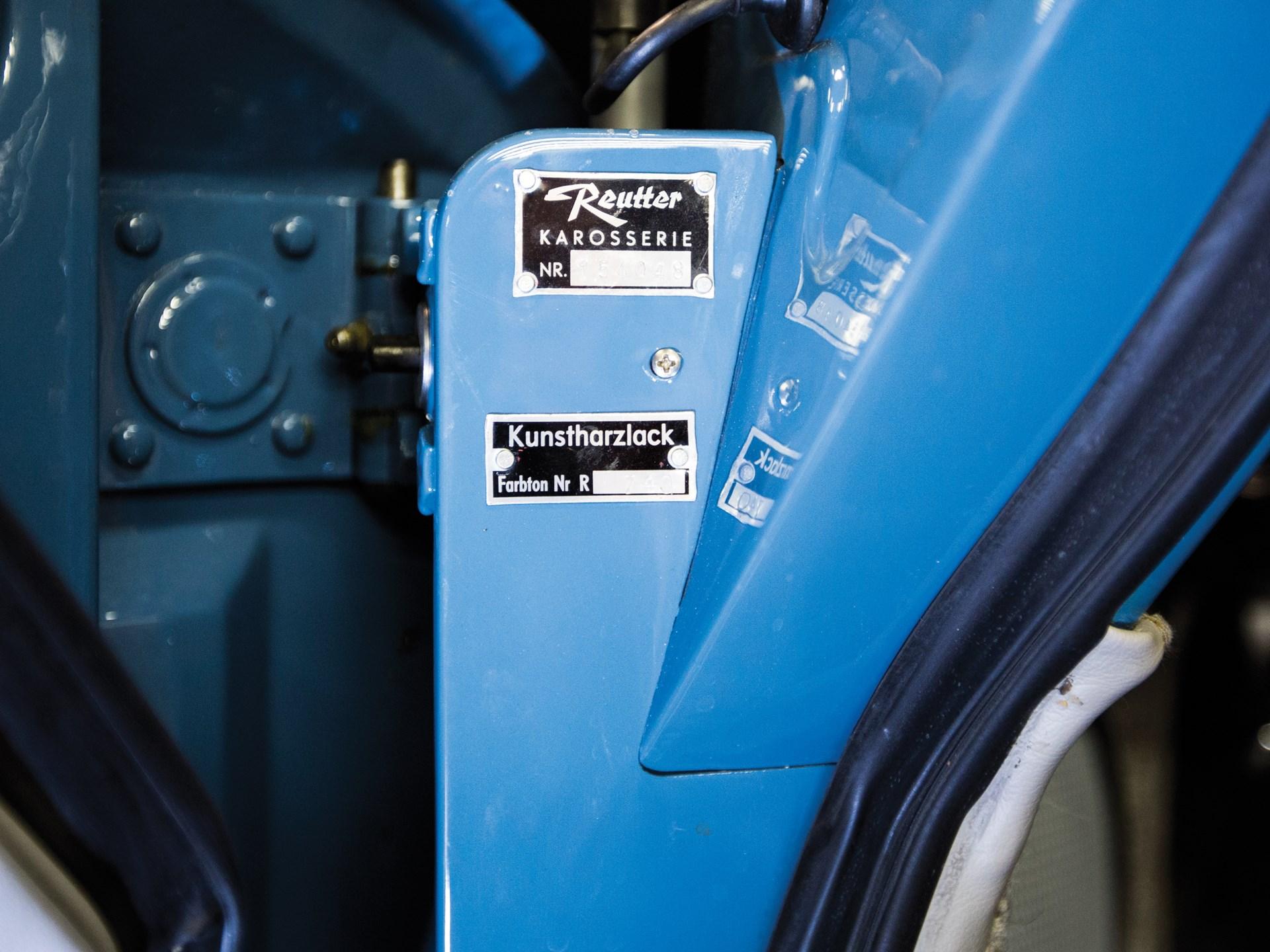 RM Sotheby\'s - 1961 Porsche 356 B 1600 Super Cabriolet by Reutter ...