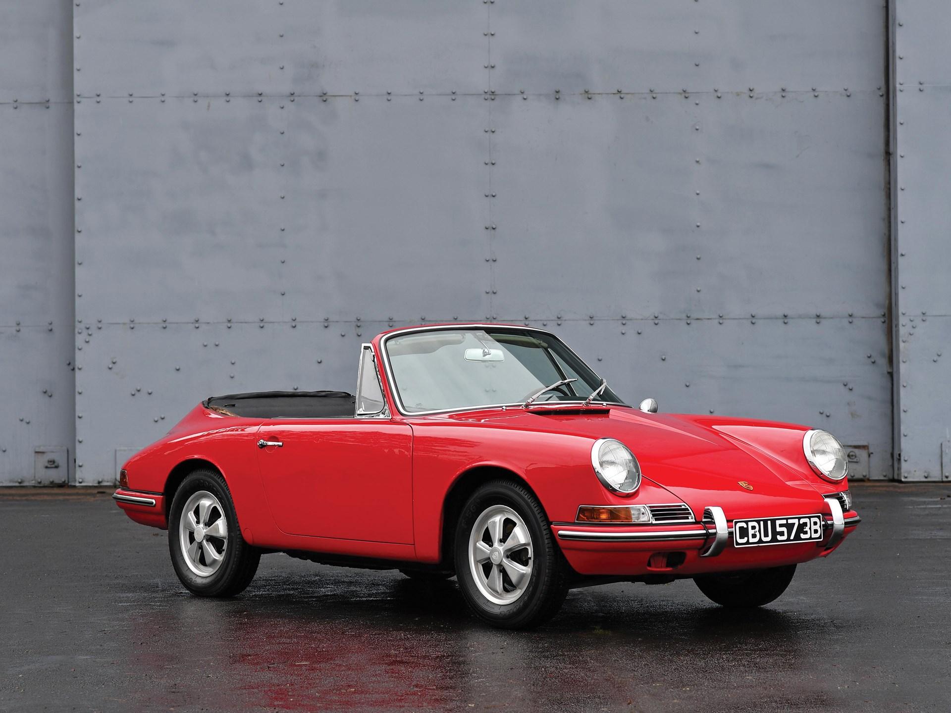 RM Sotheby's - 1964 Porsche 901 Cabriolet Prototype by Karmann ...