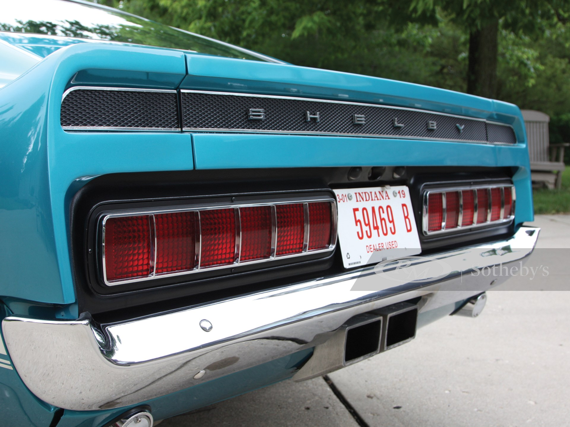 1969 Shelby GT350 Fastback  -