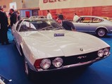 1967 Jaguar Pirana by Bertone - $The Jaguar Pirana on display by Bertone at the 1967 Turin Auto Show.