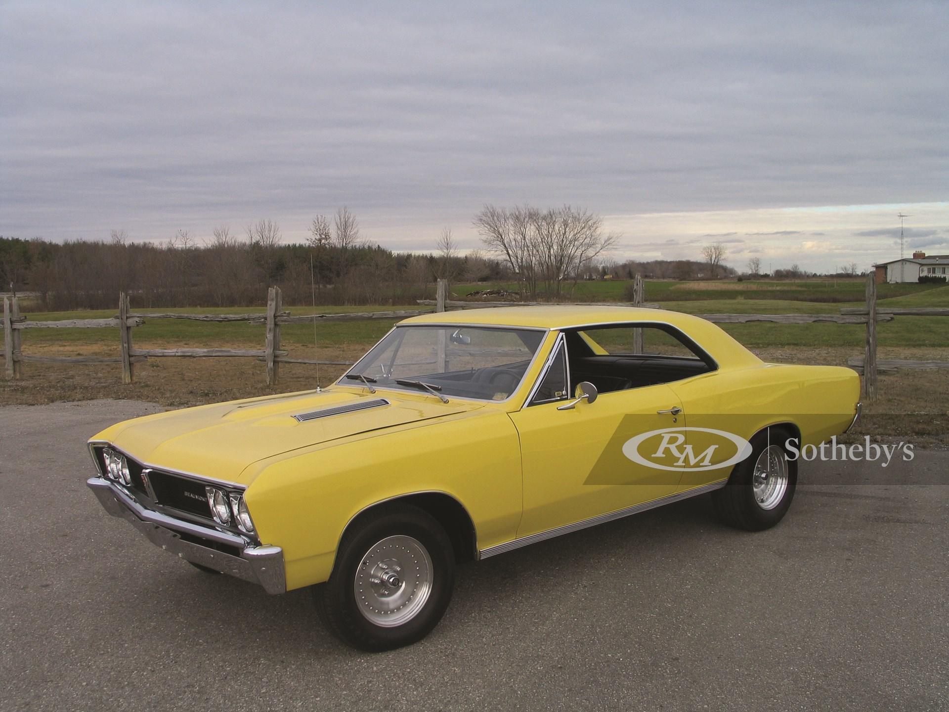 1967 Pontiac Beaumont Hard Top