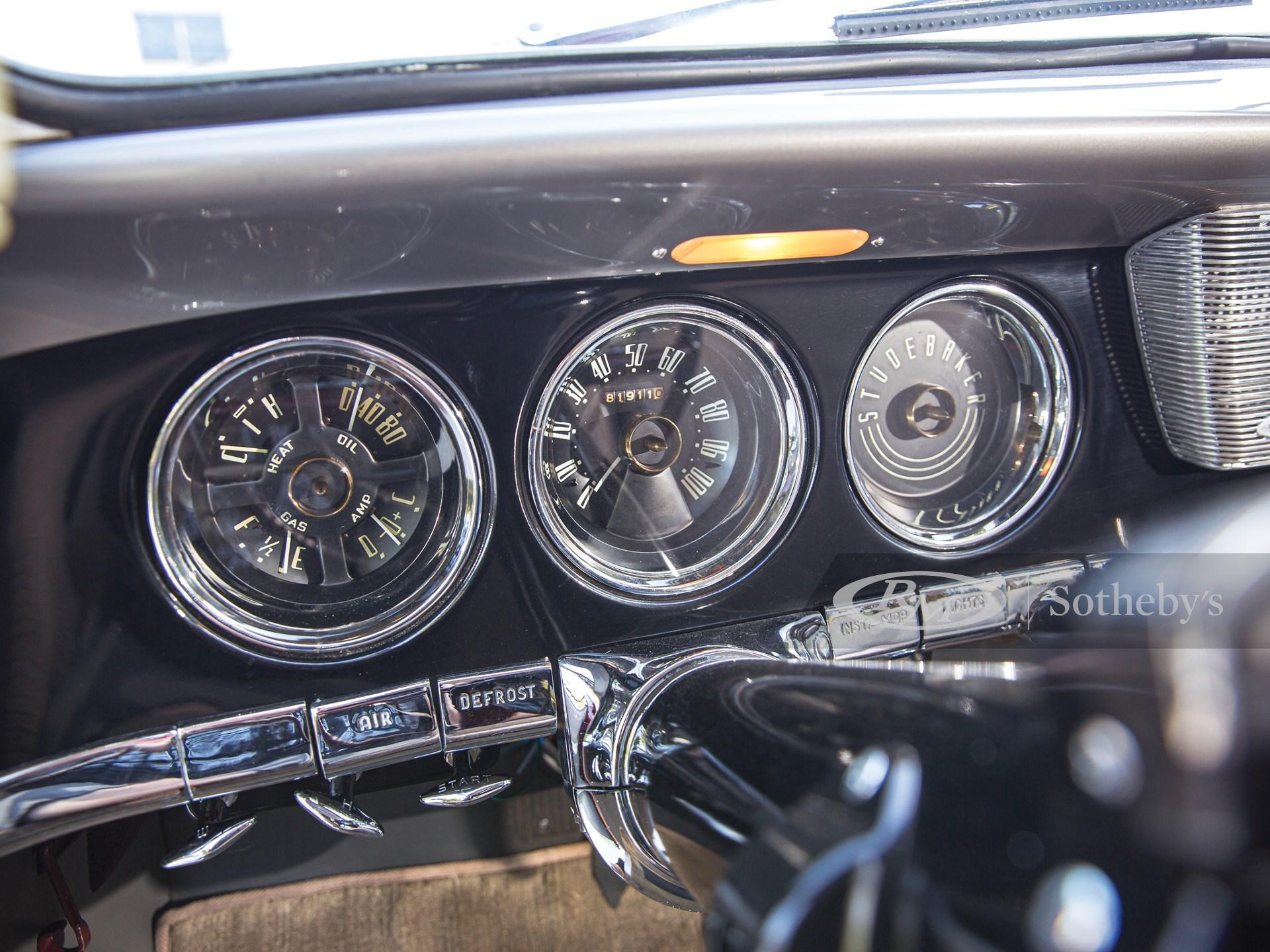 1950 Studebaker Commander Starlight Coupe  -