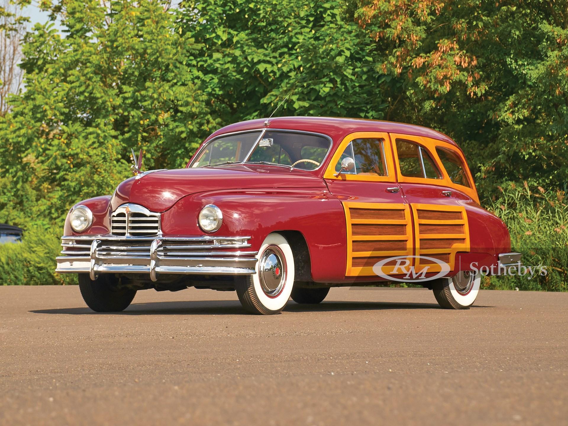 1948 Packard Eight Station Sedan