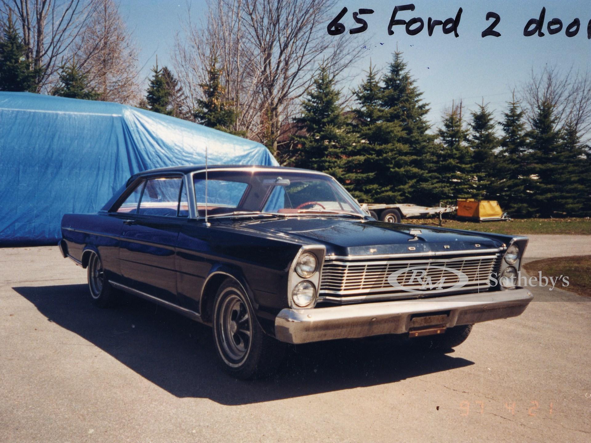 1965 Ford Galaxie 500XL Two Door Hardtop