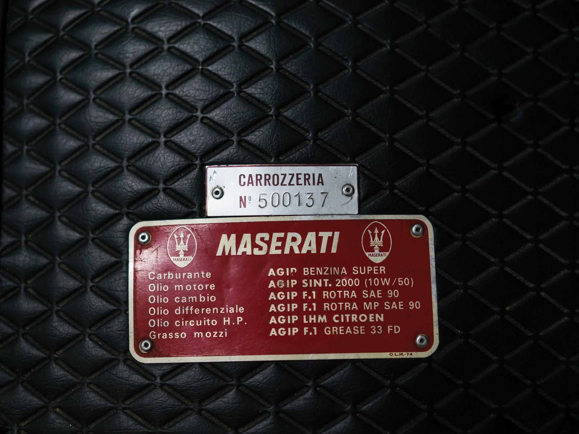 1975 Maserati Khamsin by Bertone