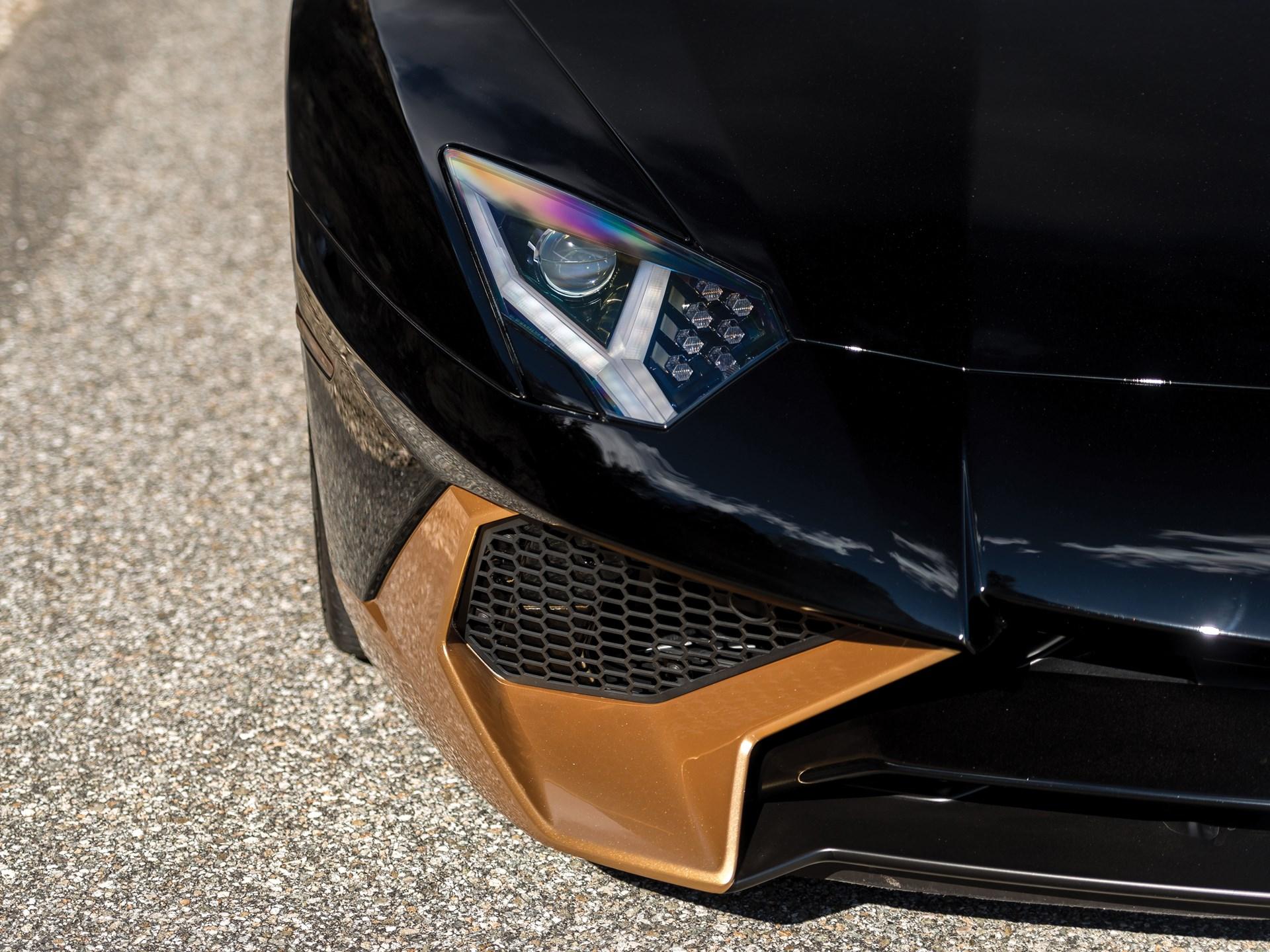 Rm Sotheby S 2017 Lamborghini Aventador Lp750 4 Sv Coupe Fort