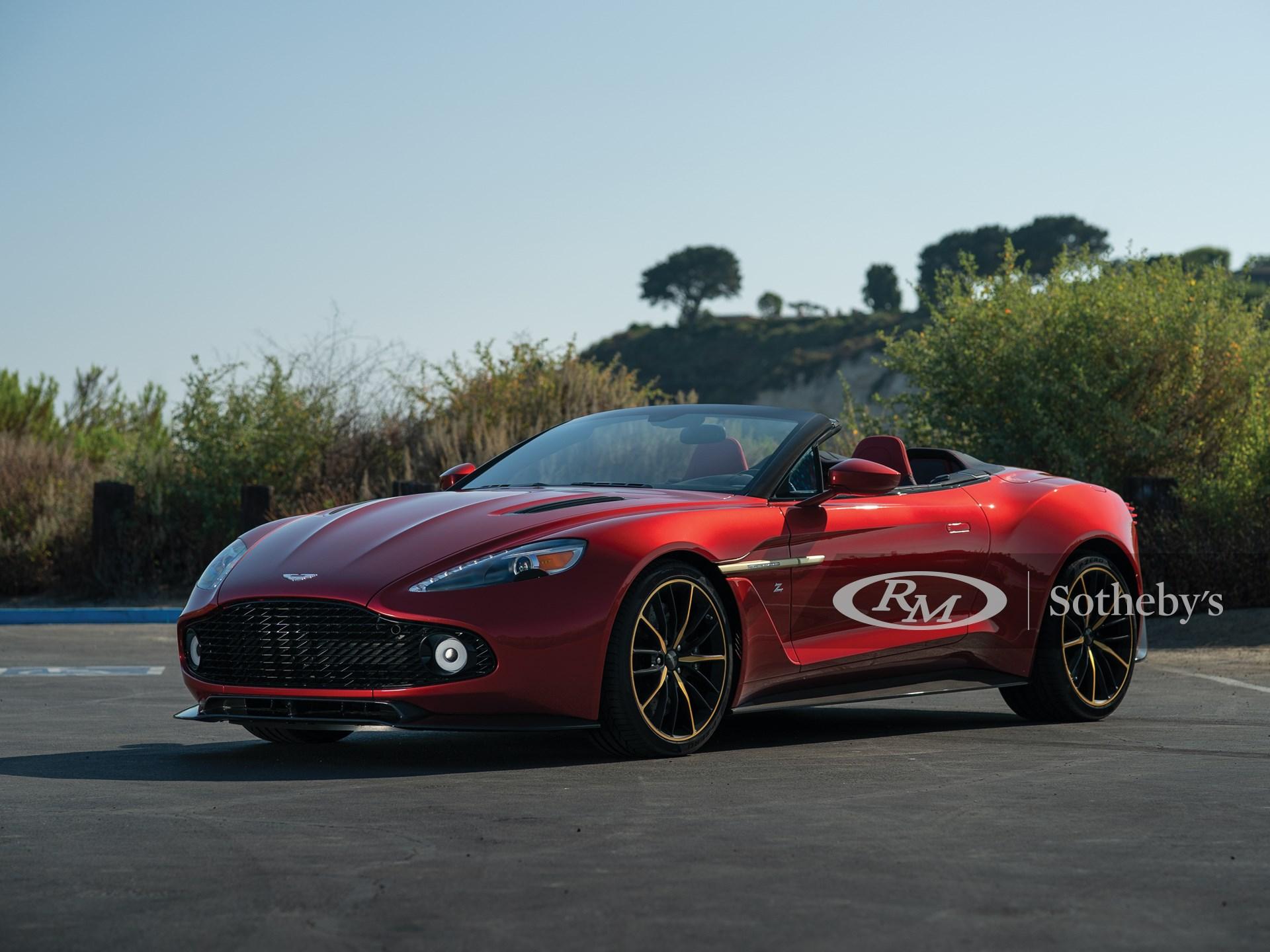 2018 Aston Martin Vanquish Zagato Volante Villa D Este Monterey 2019 Rm Sotheby S