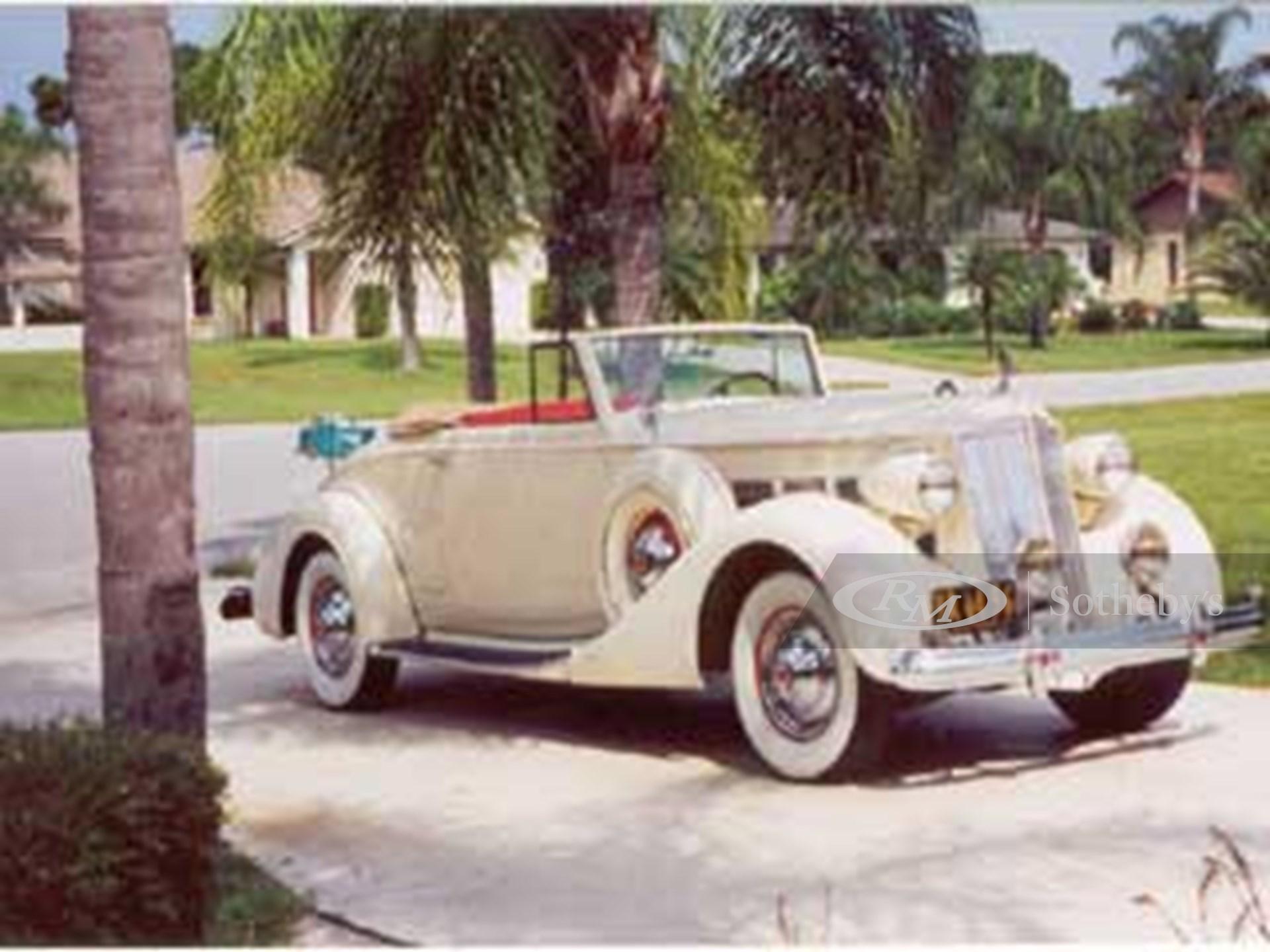 1937 Packard Super Eight Coupe Rdstr