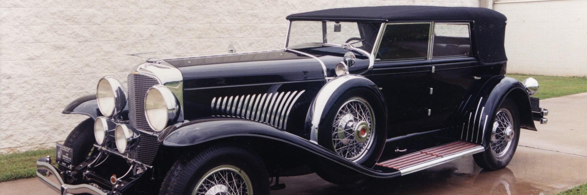 Vintage Motor Cars At Meadow Brook Hall