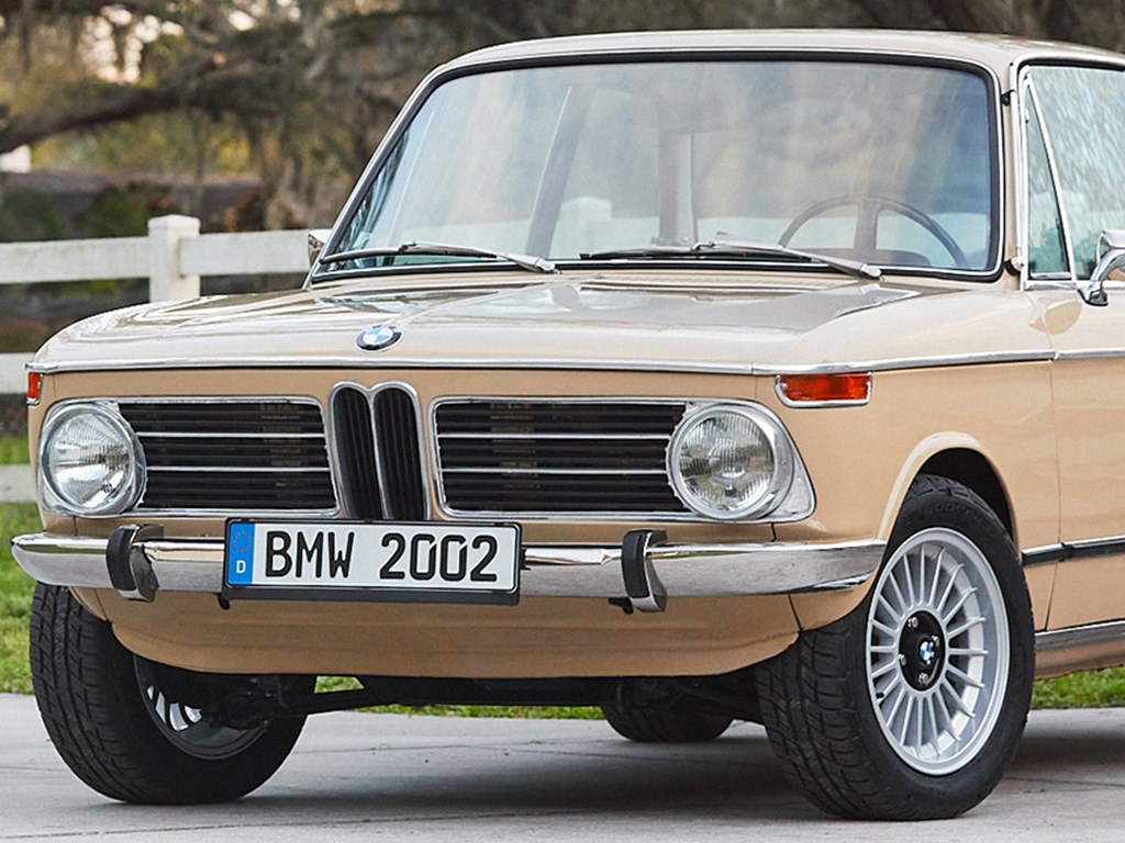 1972 BMW 2002 offered at RM Sothebys Online Only Open Roads March Auction 2021