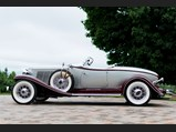 1933 Auburn Twelve Salon Speedster  - $