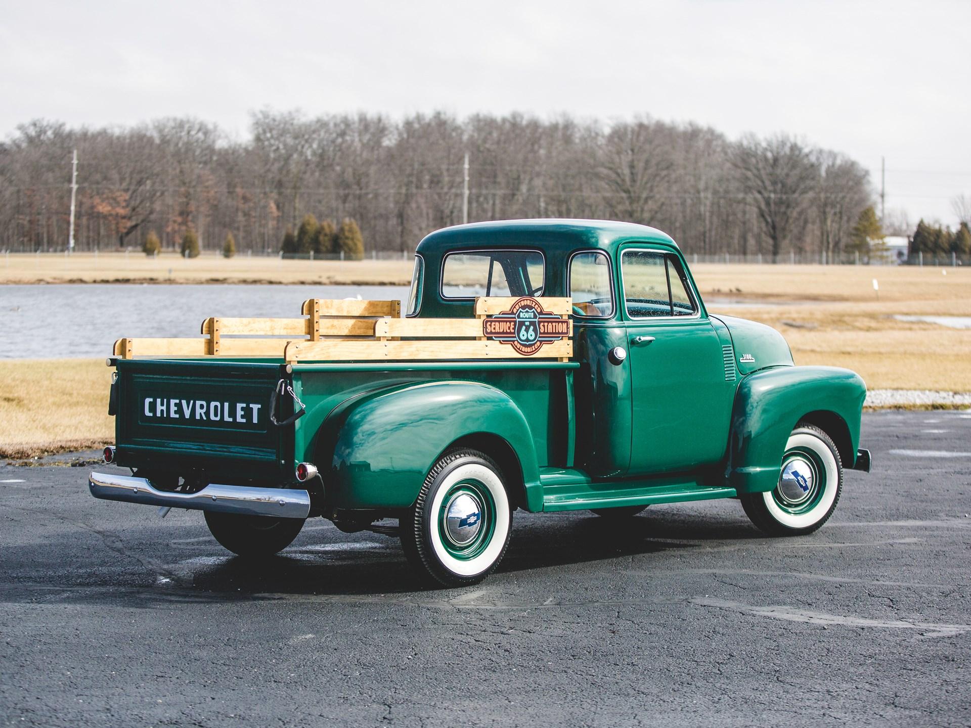 Rm Sothebys 1954 Chevrolet 3100 Pickup Fort Lauderdale 2018 Truck