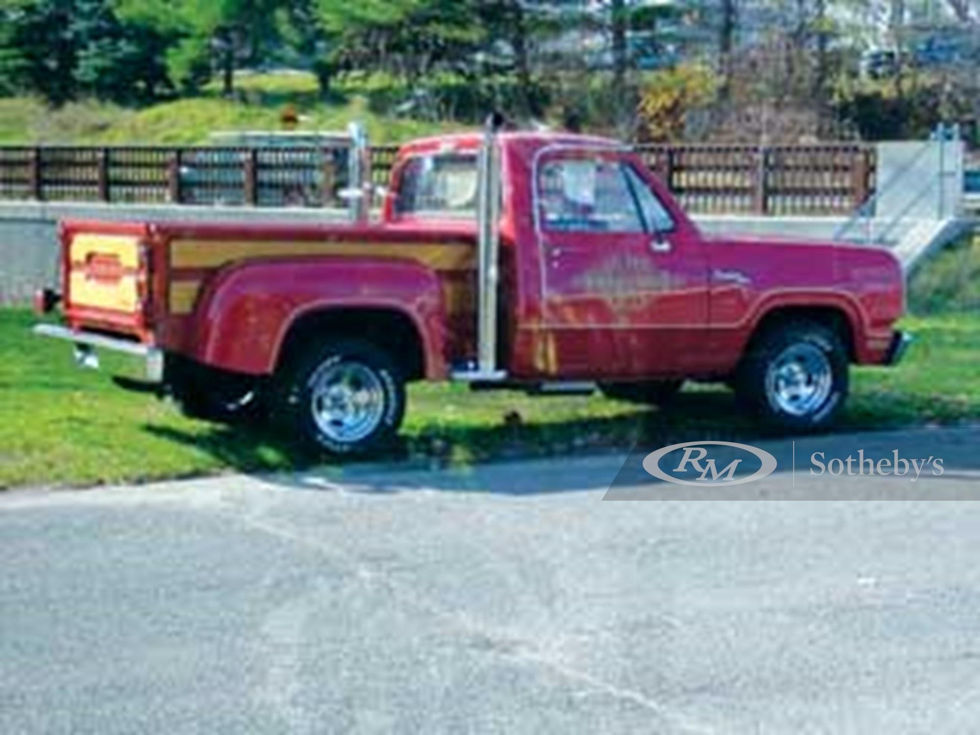 1979 Dodge Lil' Red Express Pickup