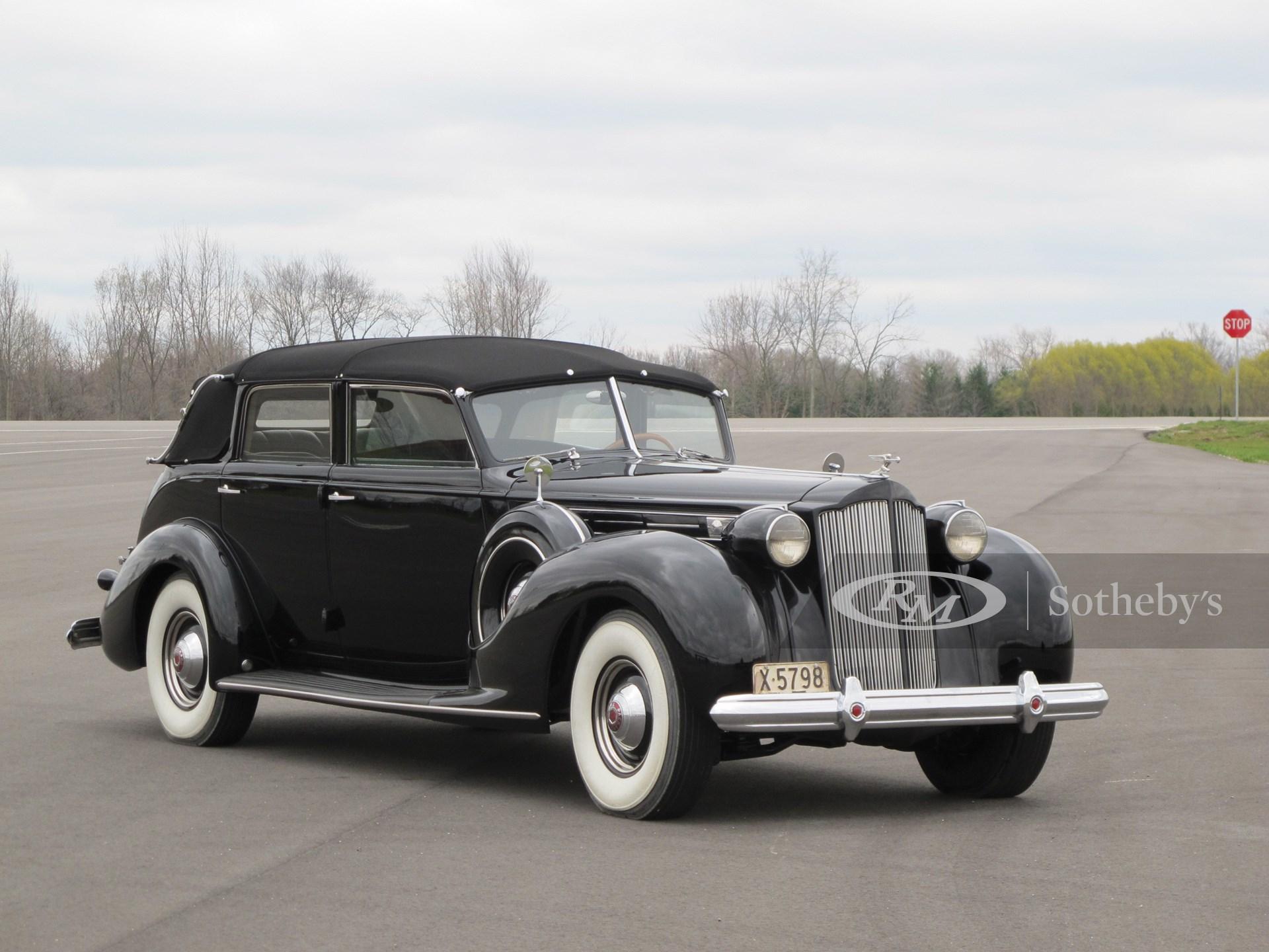 1938 Packard Twelve All-Weather Cabriolet