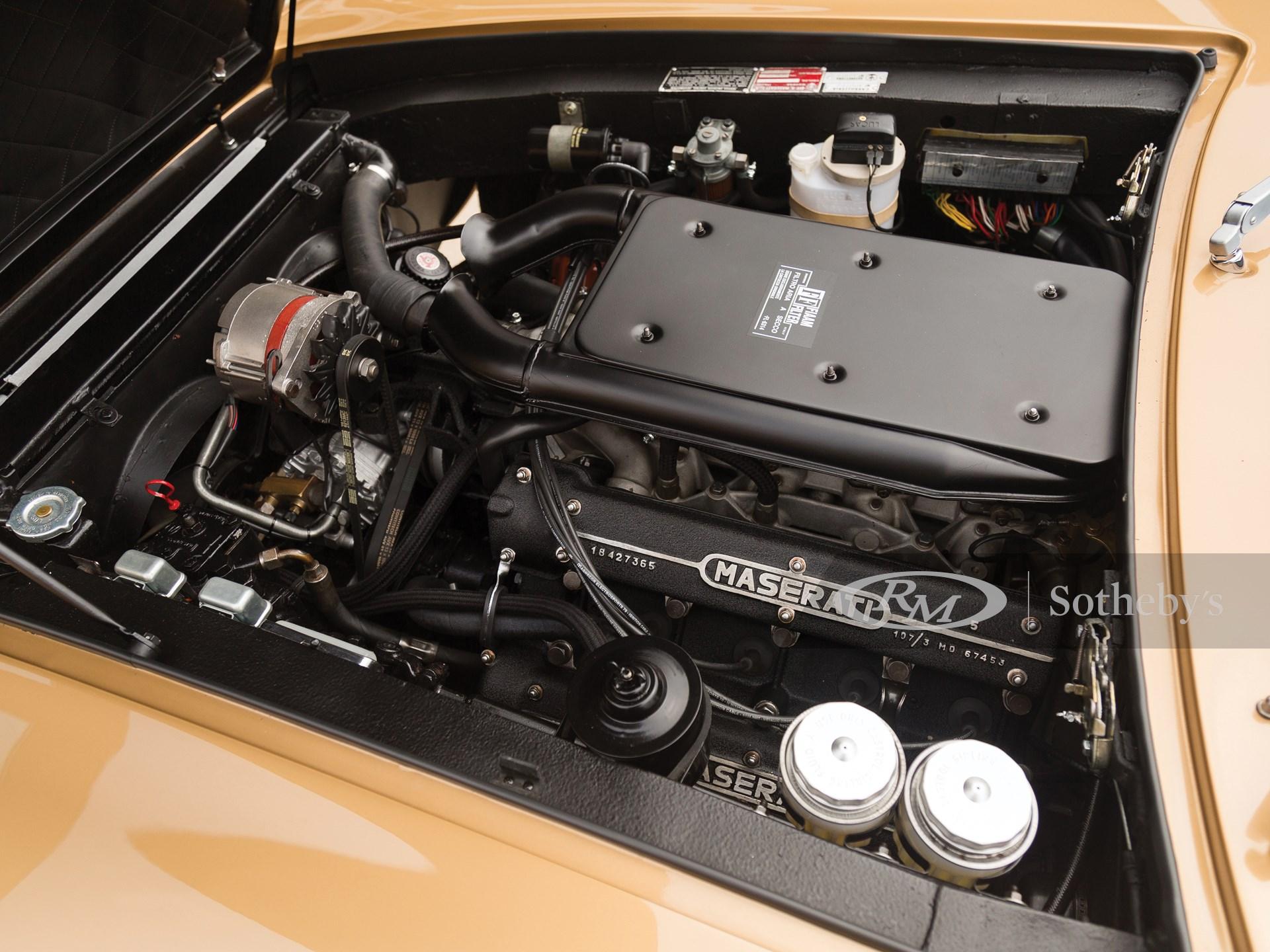 1972 Maserati Ghibli SS 4.9 Coupe by Ghia -