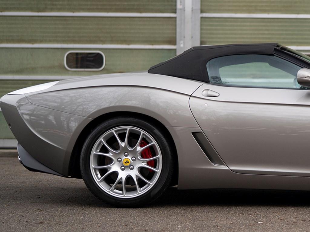 2009 Ferrari 599 GTZ Nibbio Spyder by Zagato offered at RM Sothebys Paris Live Auction 2021