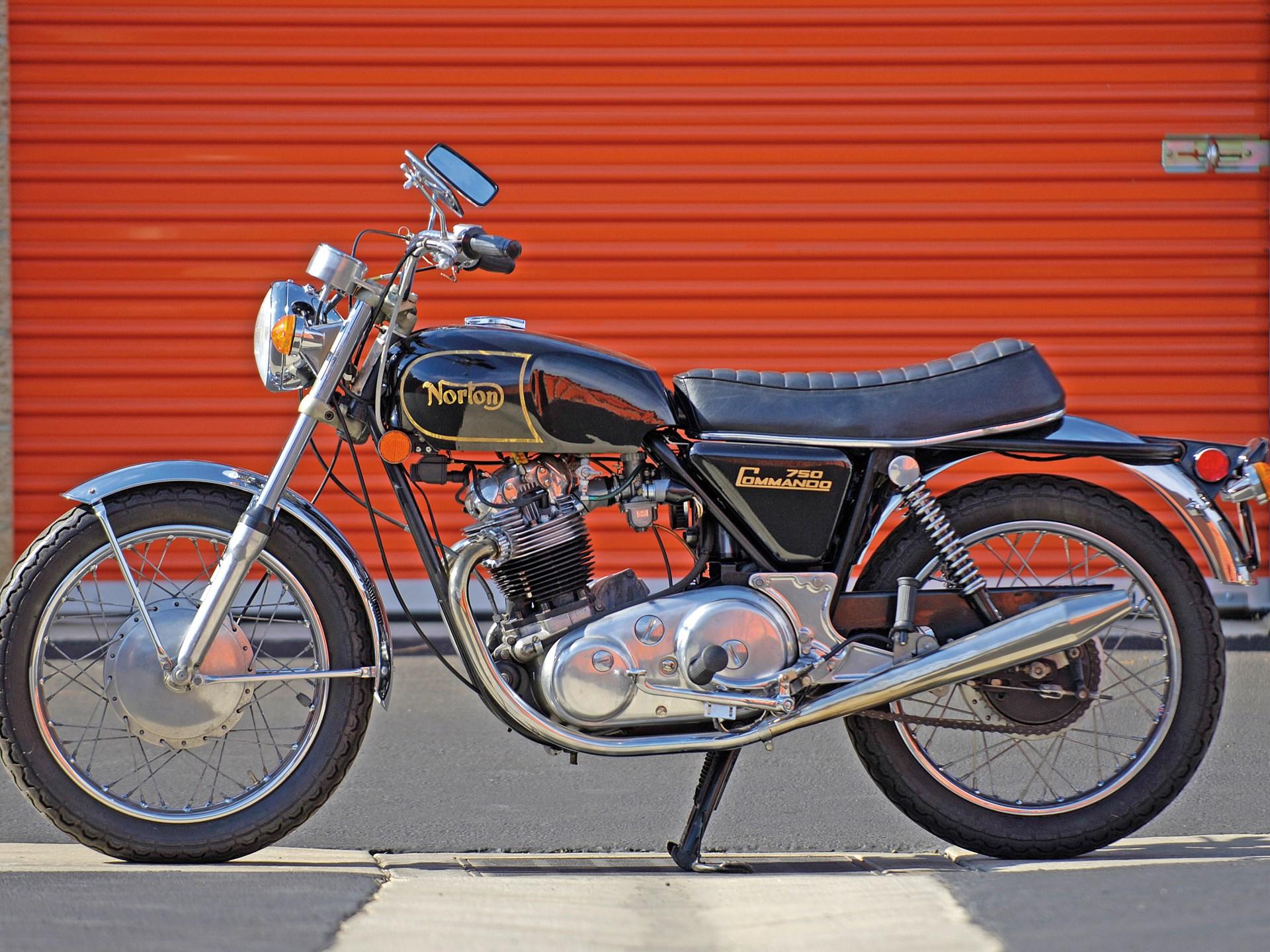 RM Sotheby's - 1971 Norton Commando 750 | Hershey 2012