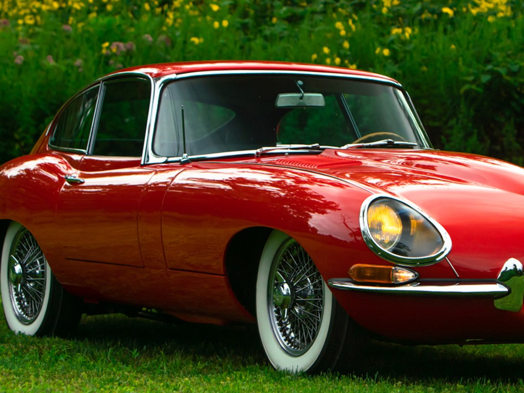 1963 Jaguar EType Series 1 3.8Litre Fixed Head Coupe offered at RM Sothebys Hershey Collector Car Live Auction 2021