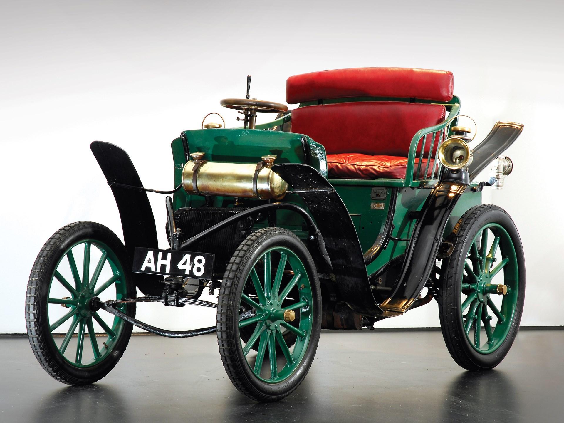 1900 Clément-Panhard Type VCP Voiture Légère Two-Seater