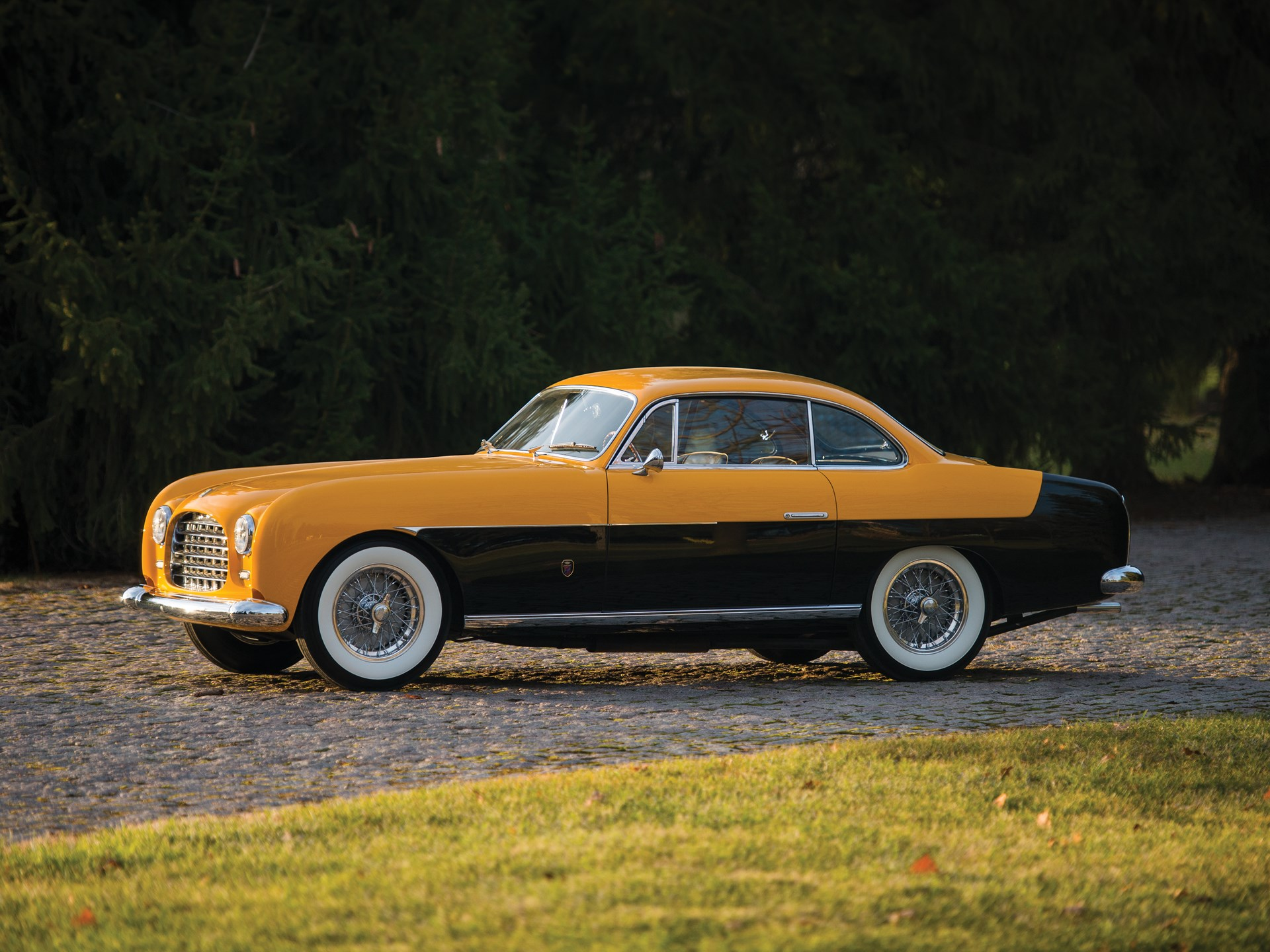 1952 Ferrari 212 Inter Coupe by Ghia