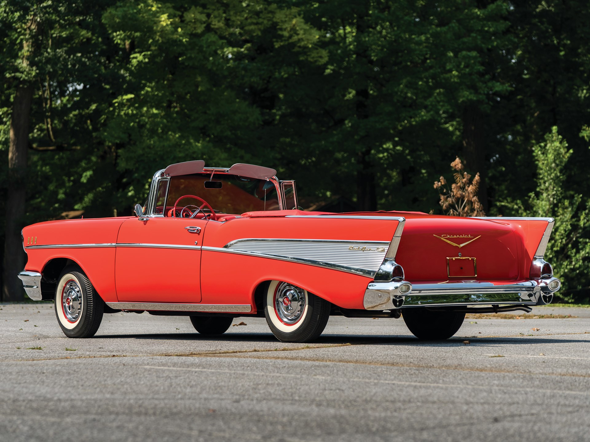 Rm Sothebys 1957 Chevrolet Bel Air Convertible Hershey 2018 Chevy Bellaire