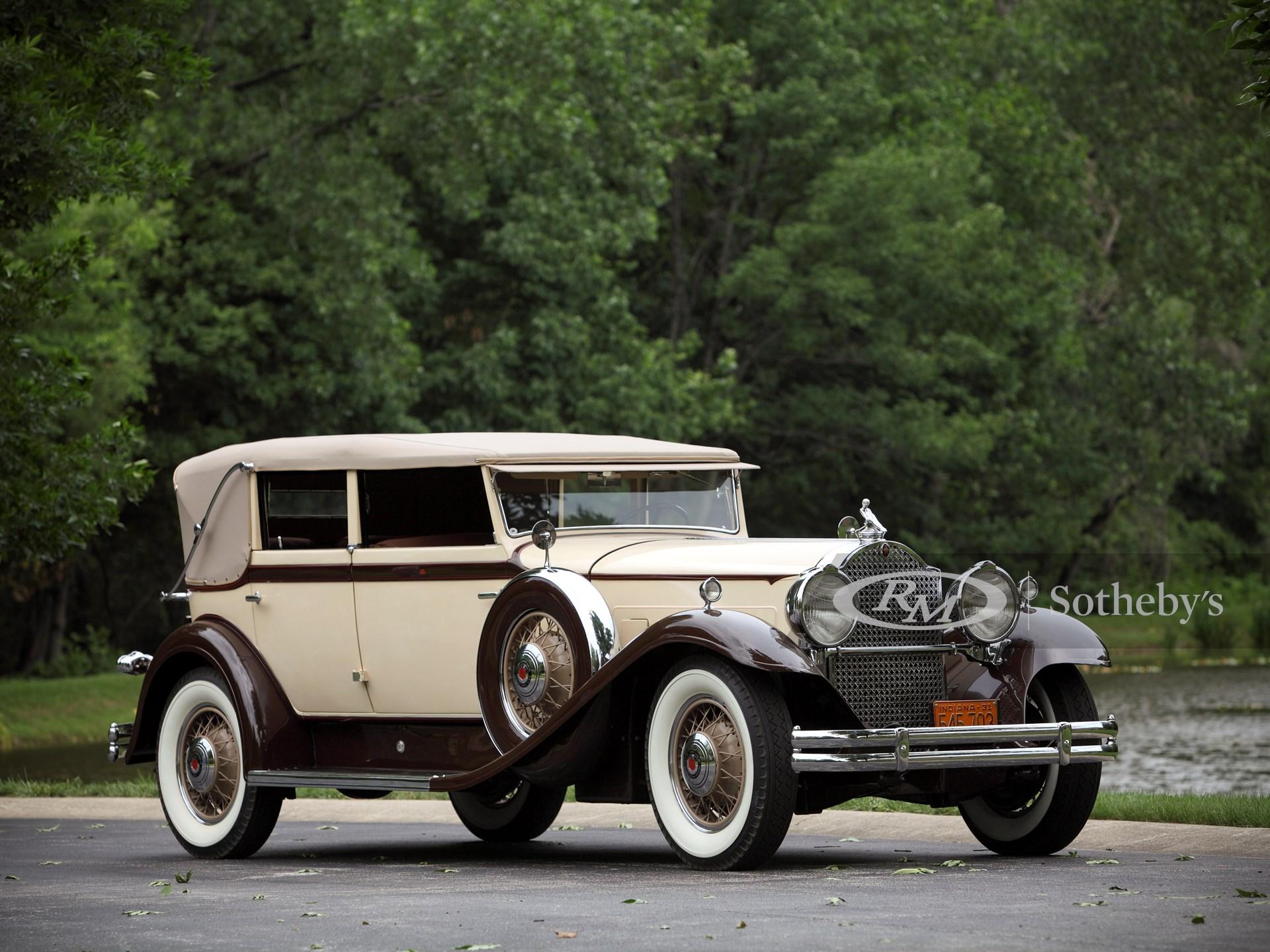 1931 Packard 840 Individual Custom Convertible Sedan by Dietrich