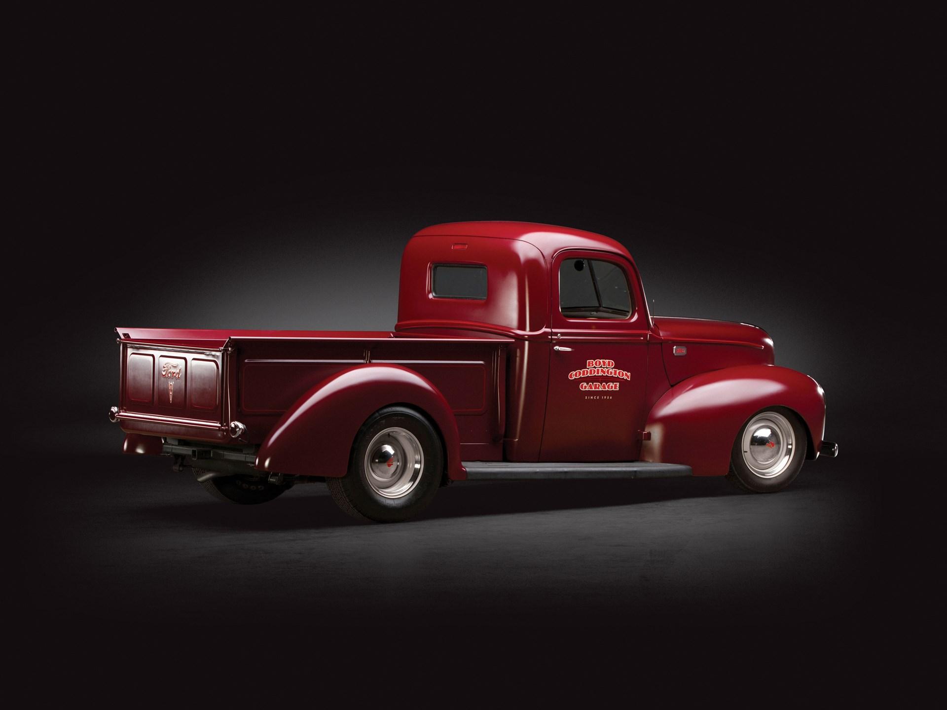 Rm Sothebys 1941 Ford Pickup Custom By Boyd Coddington Sam Pack Truck Steering Column