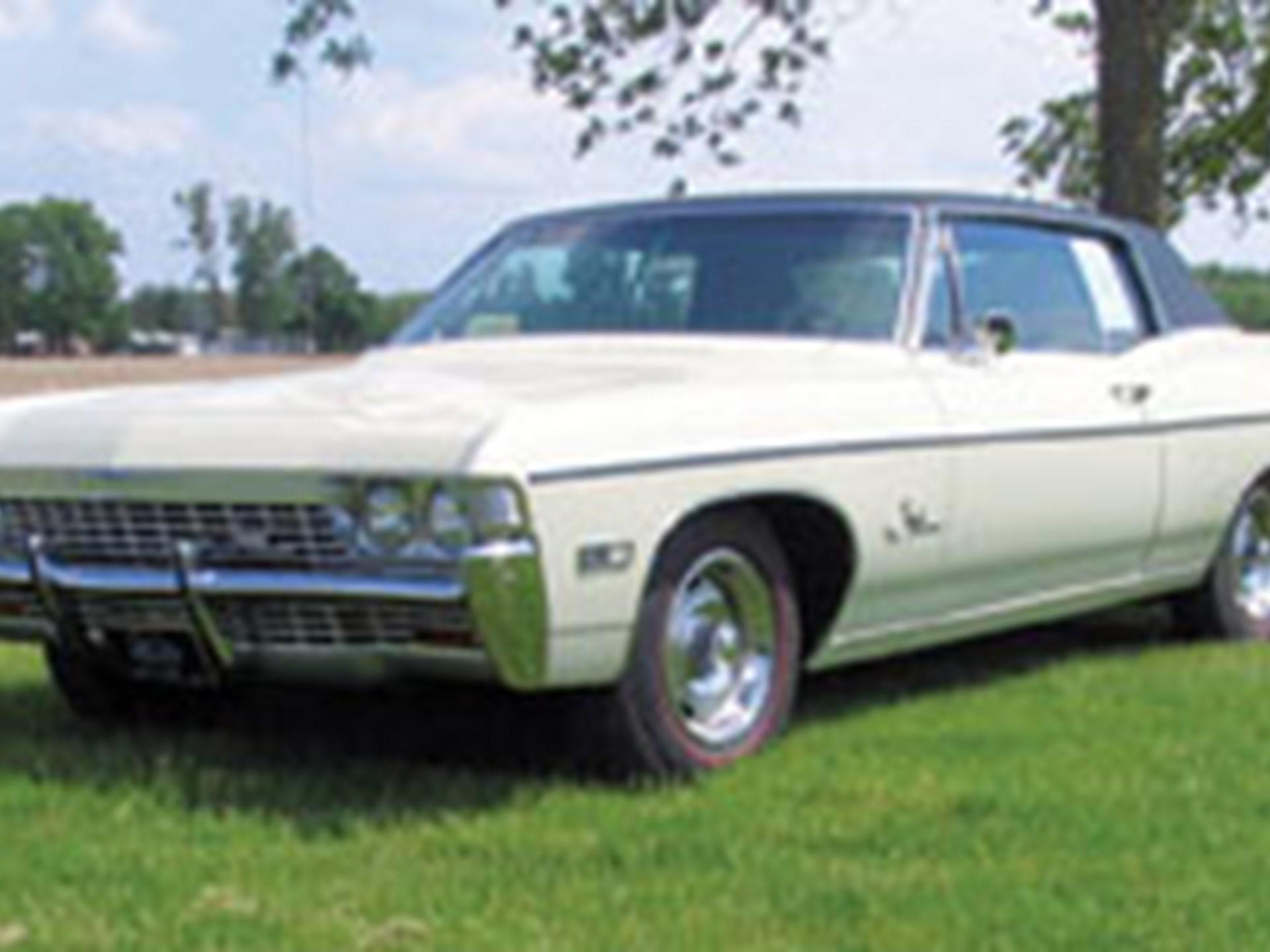 Rm Sothebys 1968 Chevrolet Impala Ss Auburn Spring 2012 Custom Coupe
