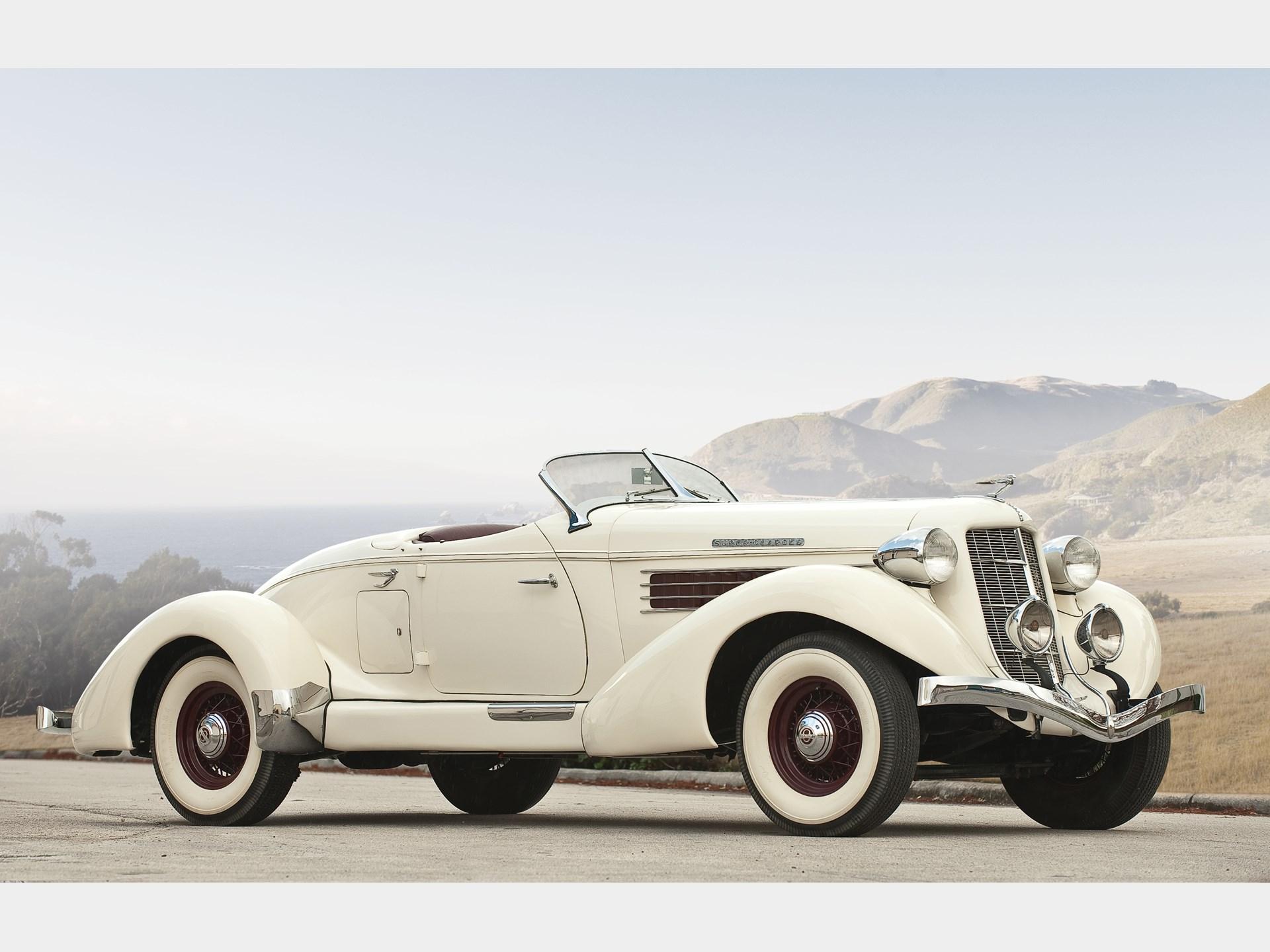 Rm Sotheby S 1935 Auburn 851 Sc Boattail Speedster