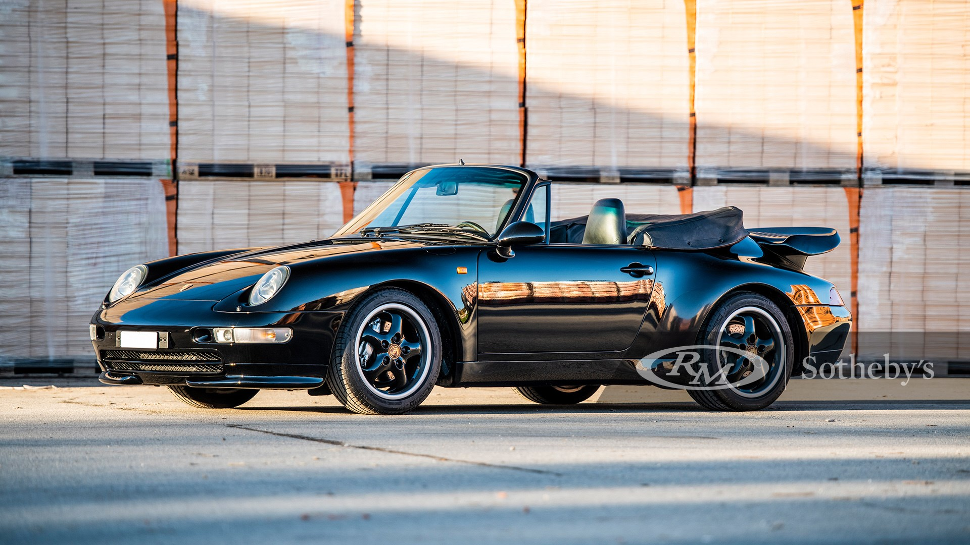 1995 Porsche 911 Turbo Cabriolet available at RM Sotheby's Online Only Open Roads February Auction 2021