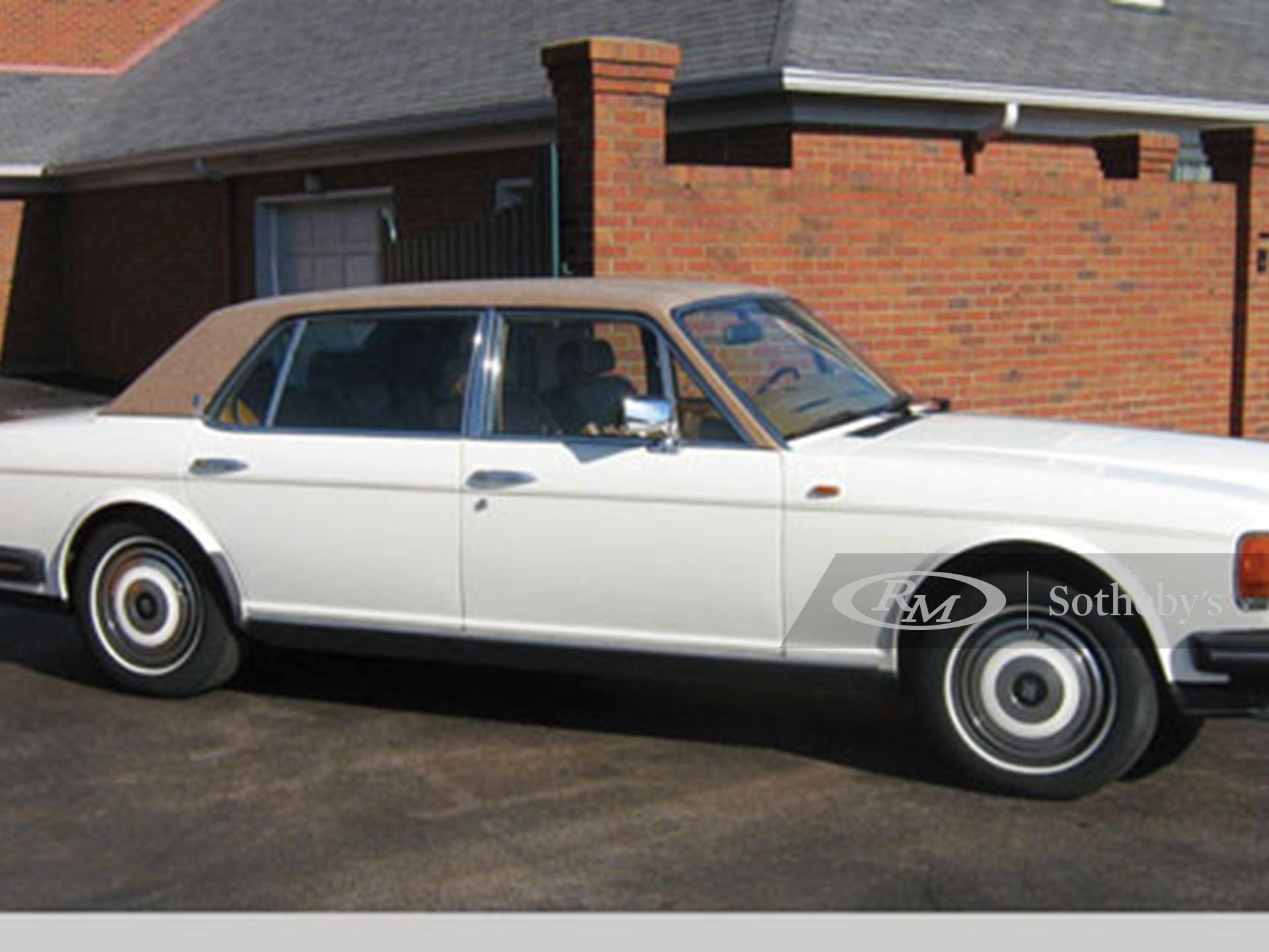 1988 Rolls-Royce Silver Spur Four Door Sedan