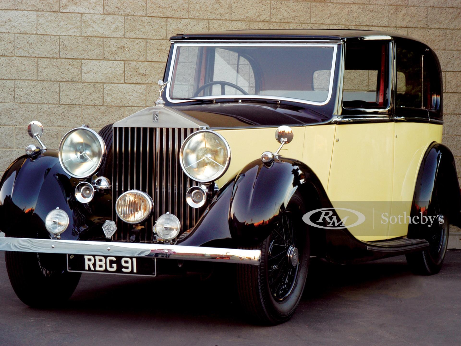1937 Rolls-Royce 25/30 Sedanca Deville  -