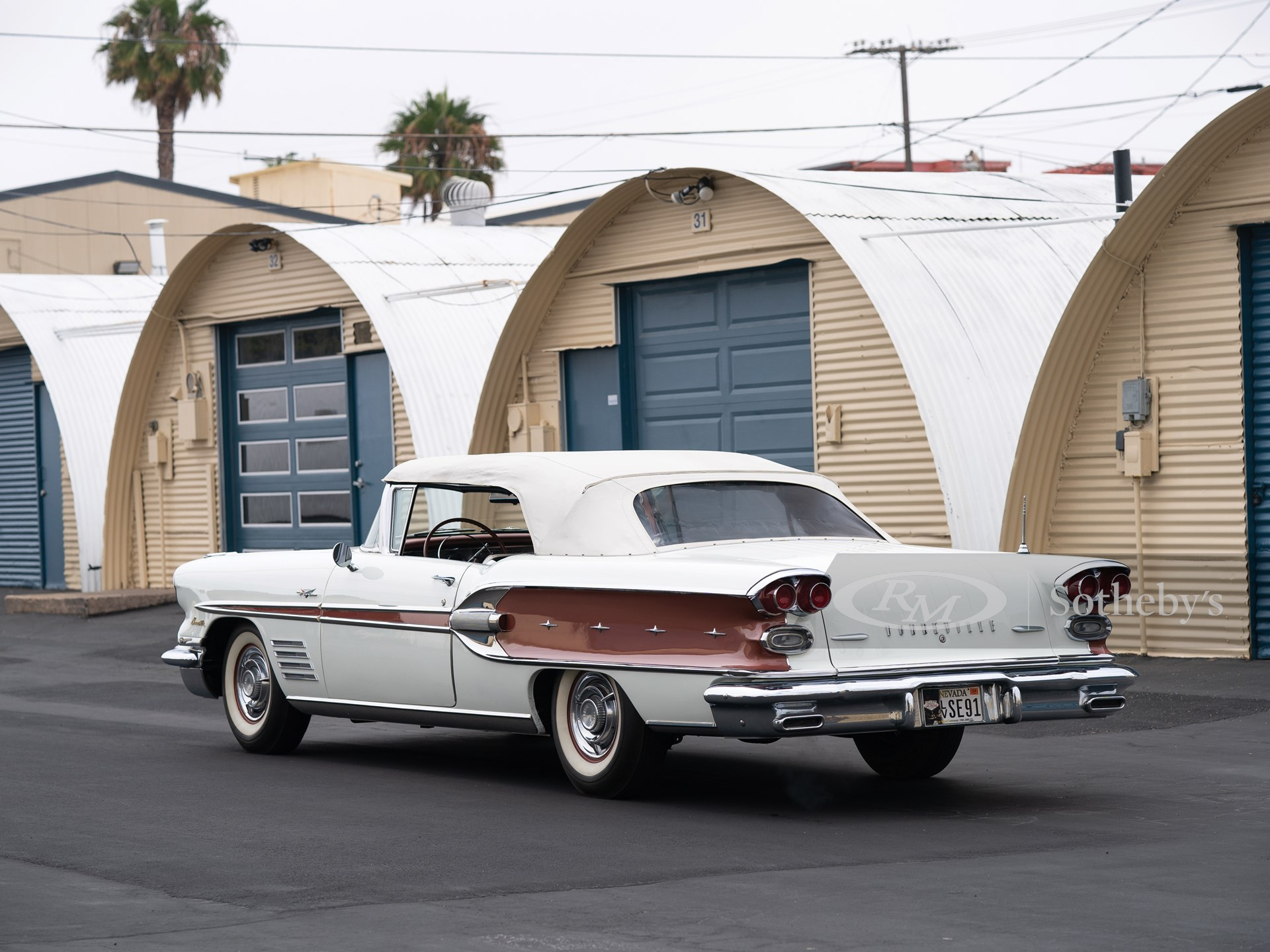 1958 Pontiac Bonneville Custom Convertible  -