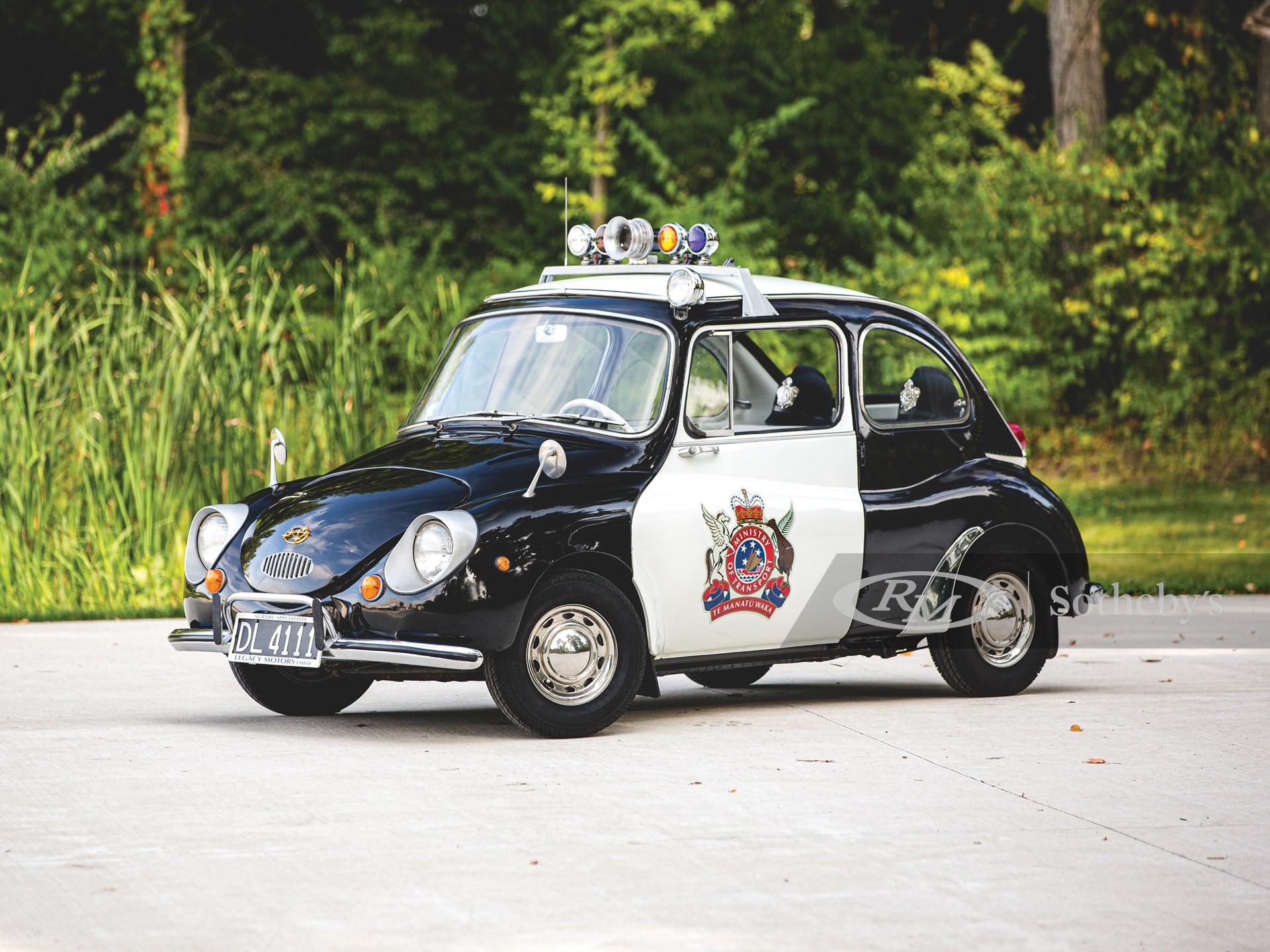 スバル 360 フェイク パトカー
