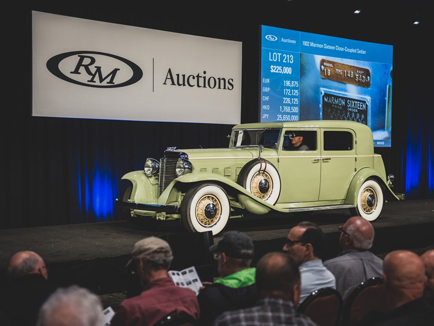 RM Sothebys Hershey - Hershey antique car show